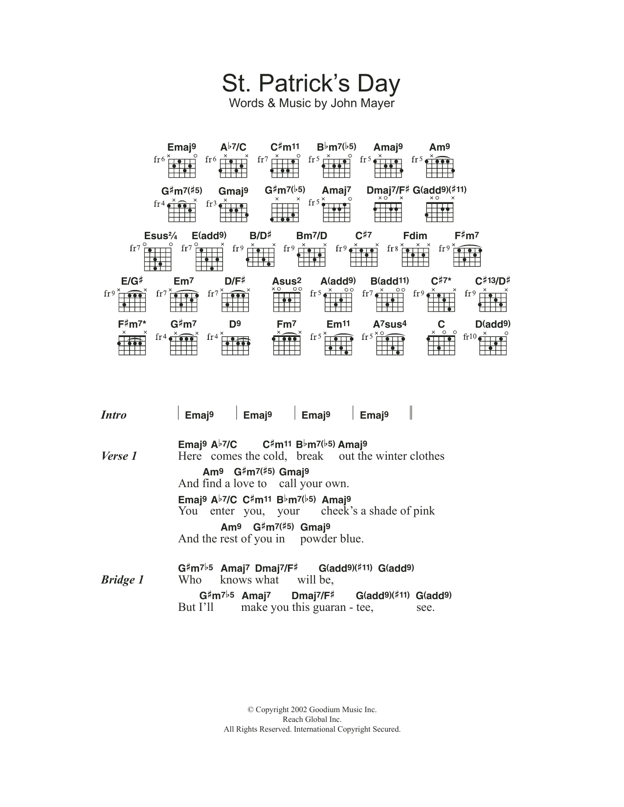 St Patrick S Day Sheet Music Direct