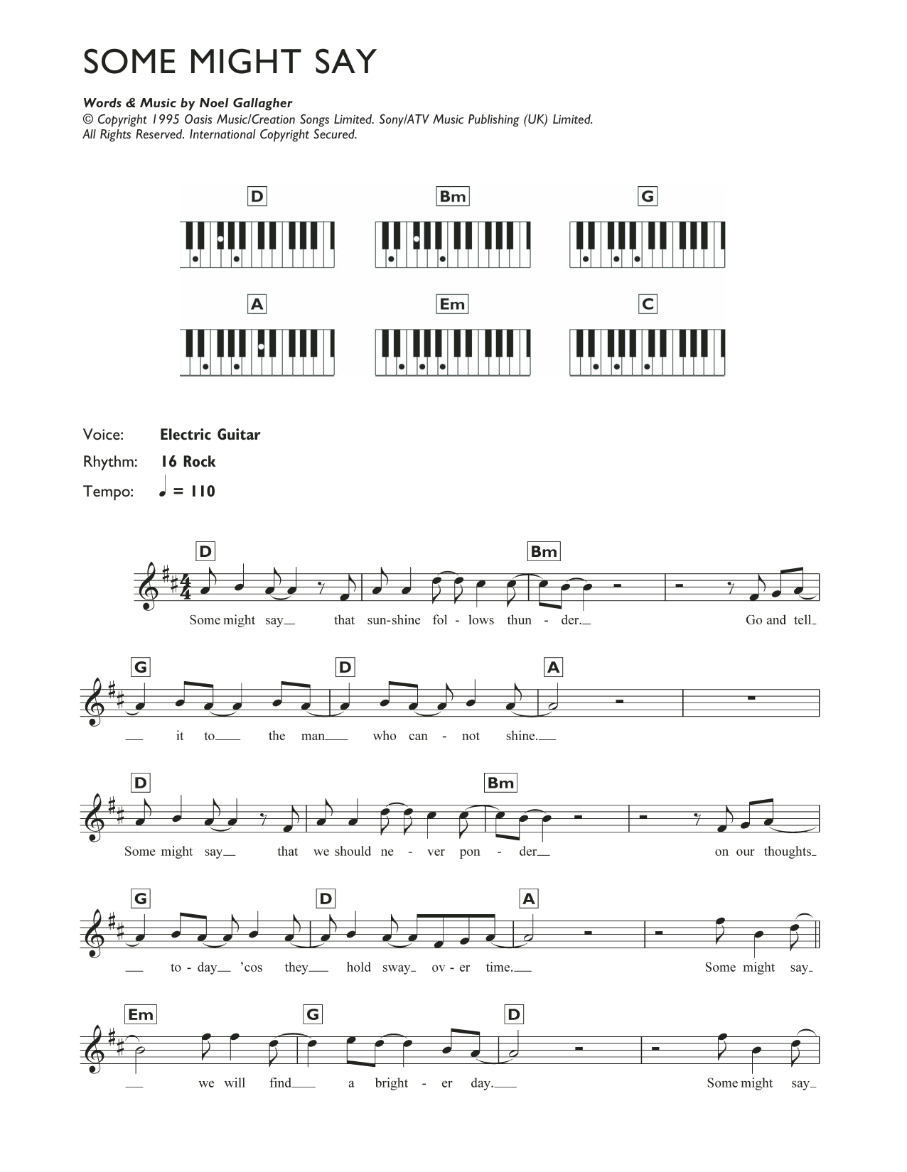 Piano Chord Rock Music At Stantons Sheet Music