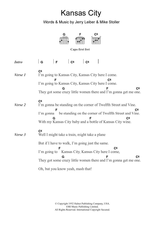 Wilbert Harrison – Kansas City Lyrics | Genius Lyrics
