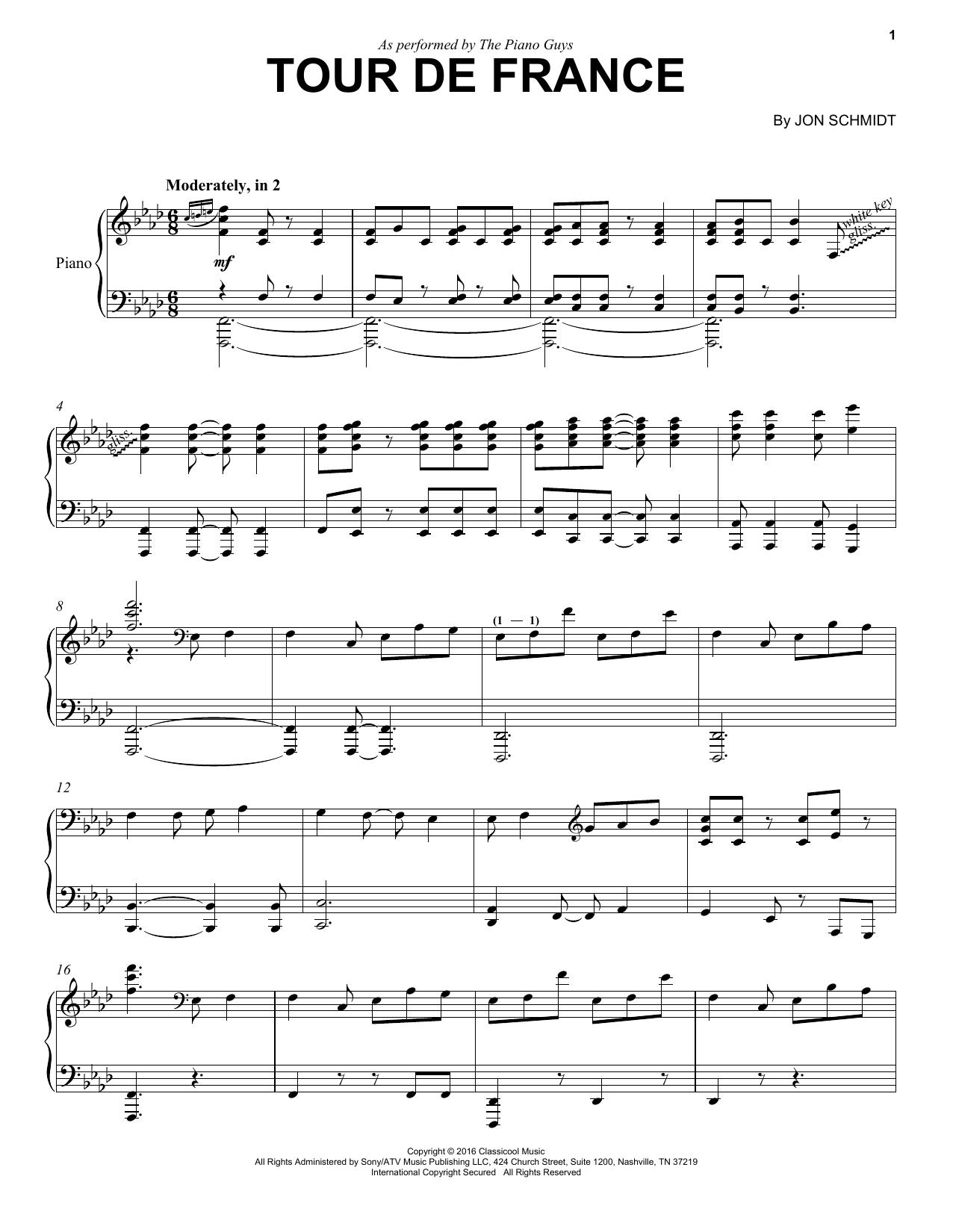 Tour De France (Piano Solo)