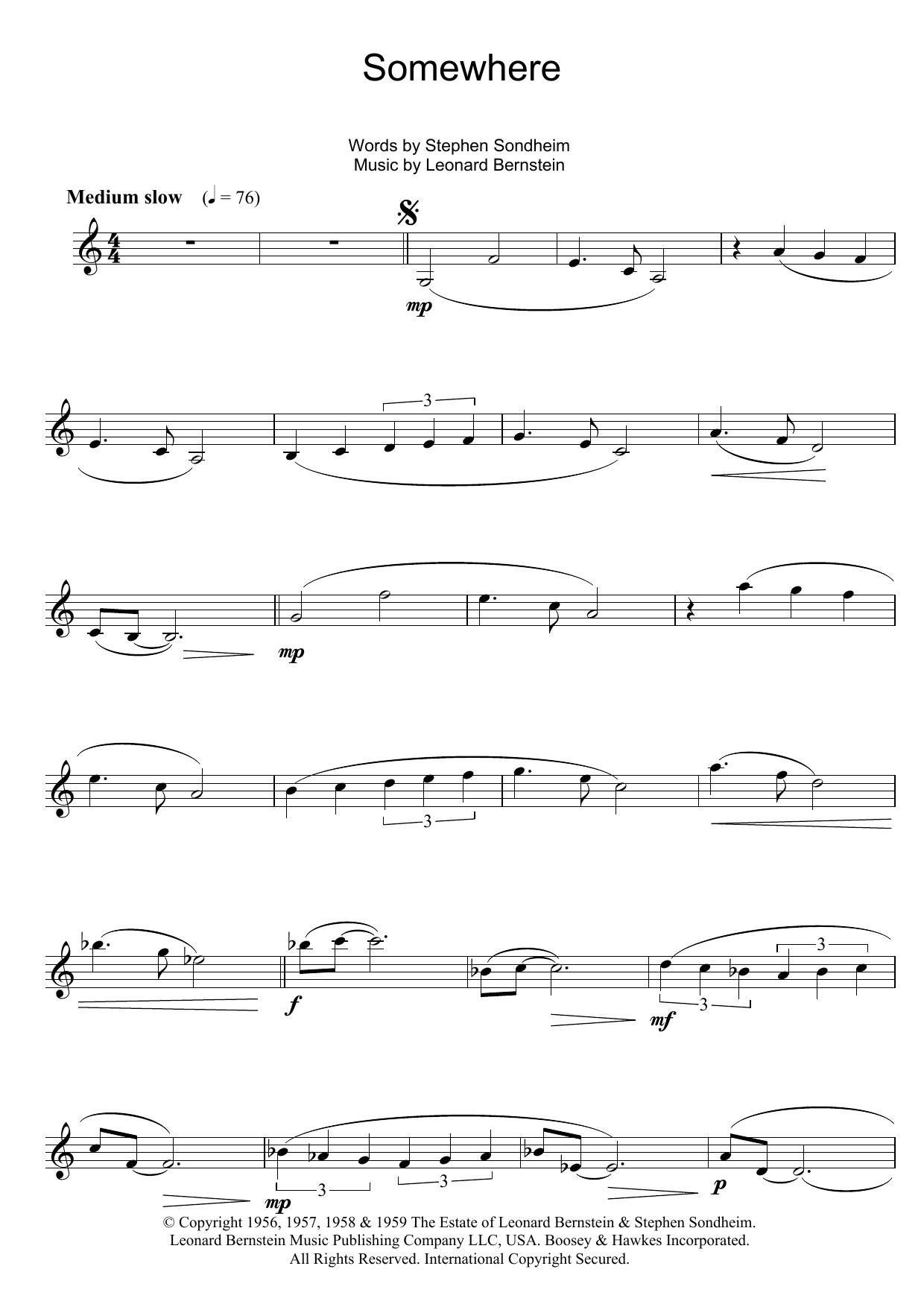 West Side Story Score Pdf