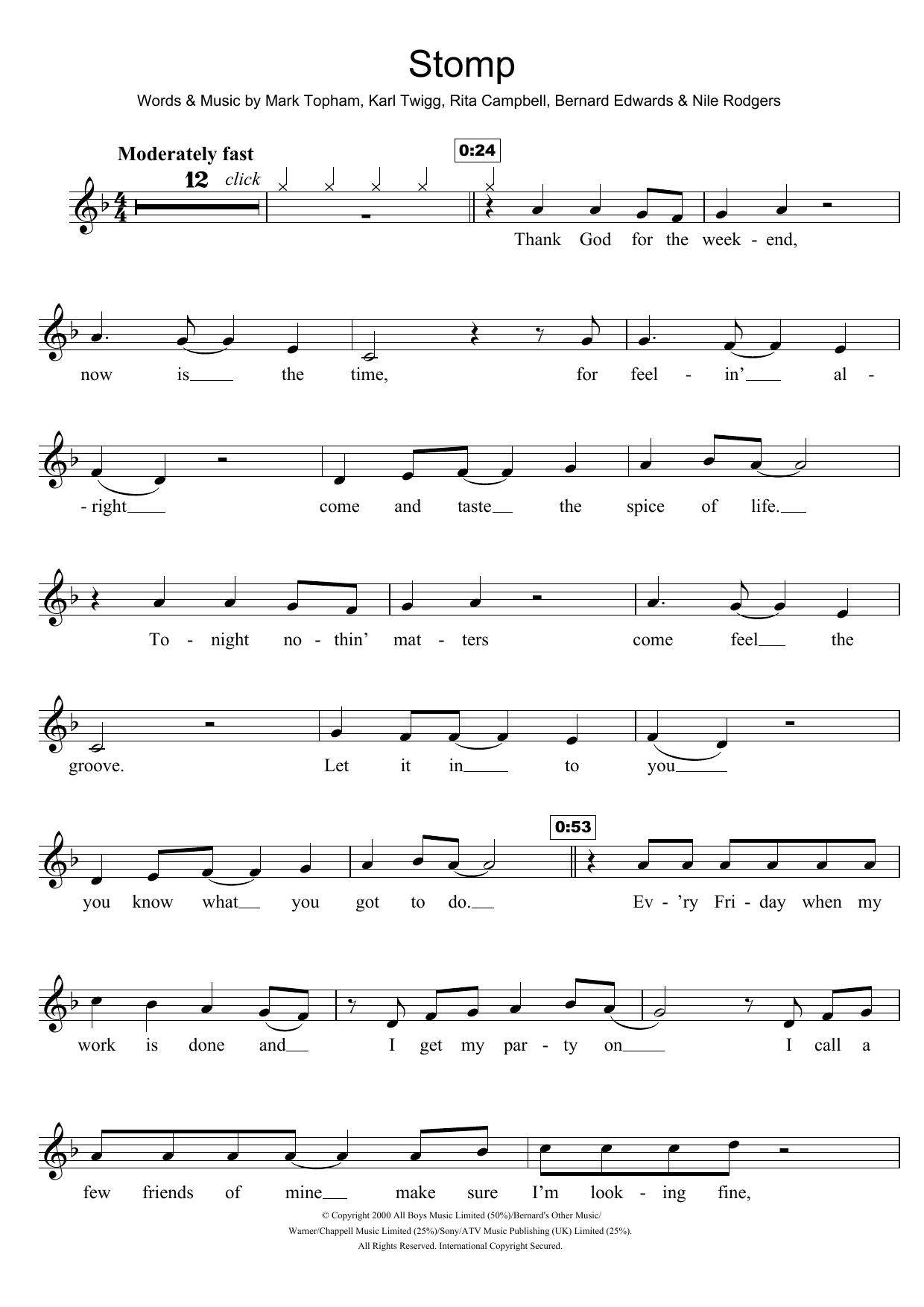 Stomp (Violin Solo)