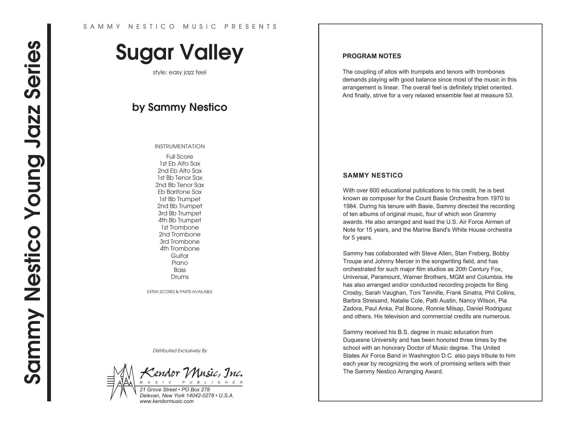 Sugar Valley - Full Score Sheet Music