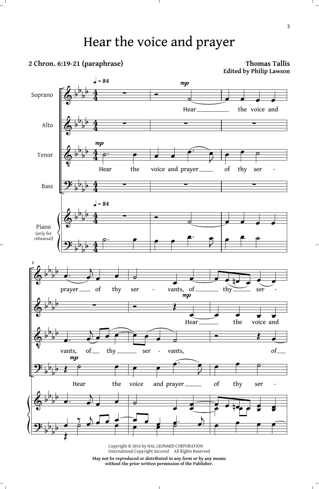 Prayers And Partsongs Sheet Music