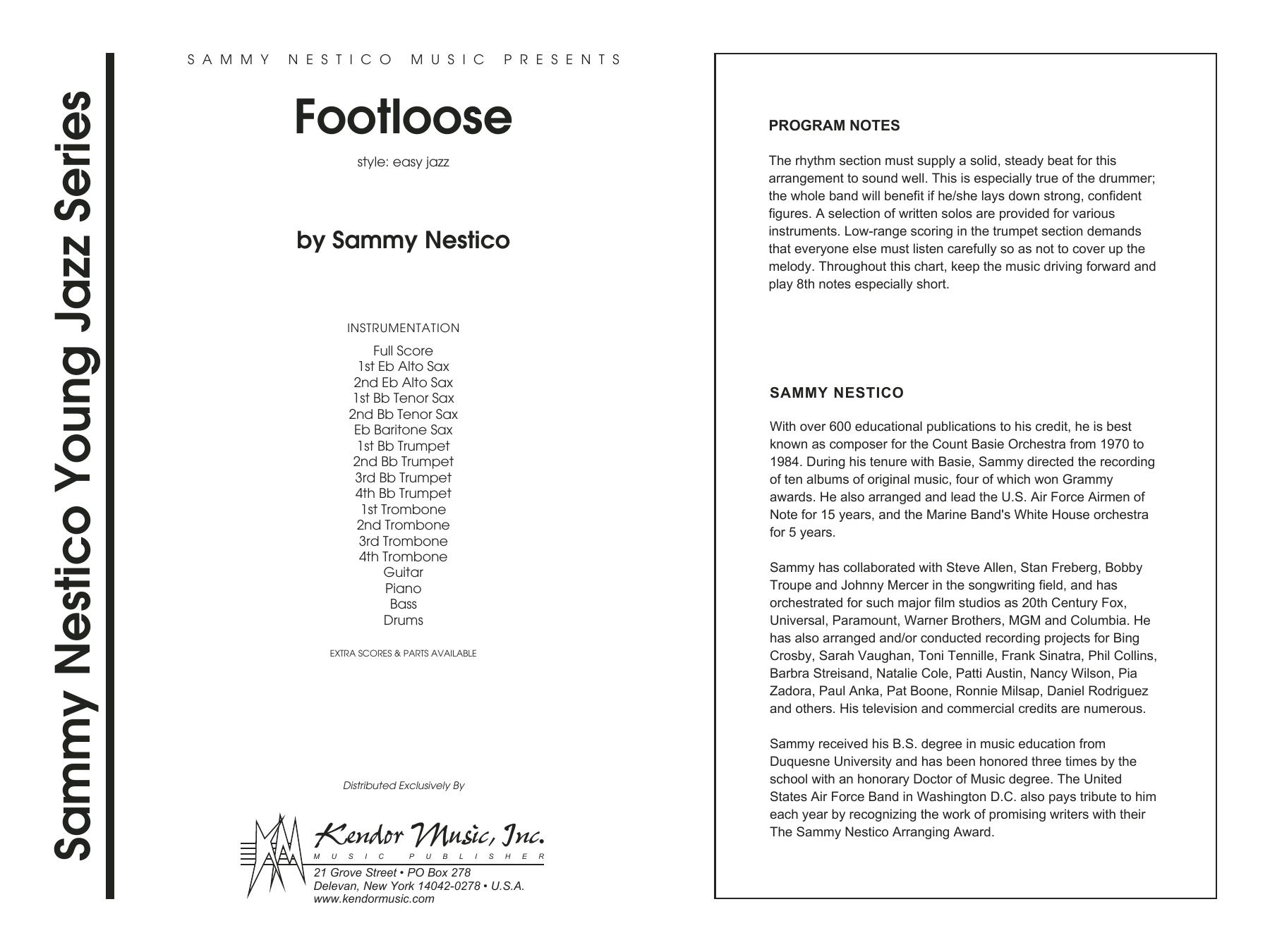 Footloose - Full Score Sheet Music