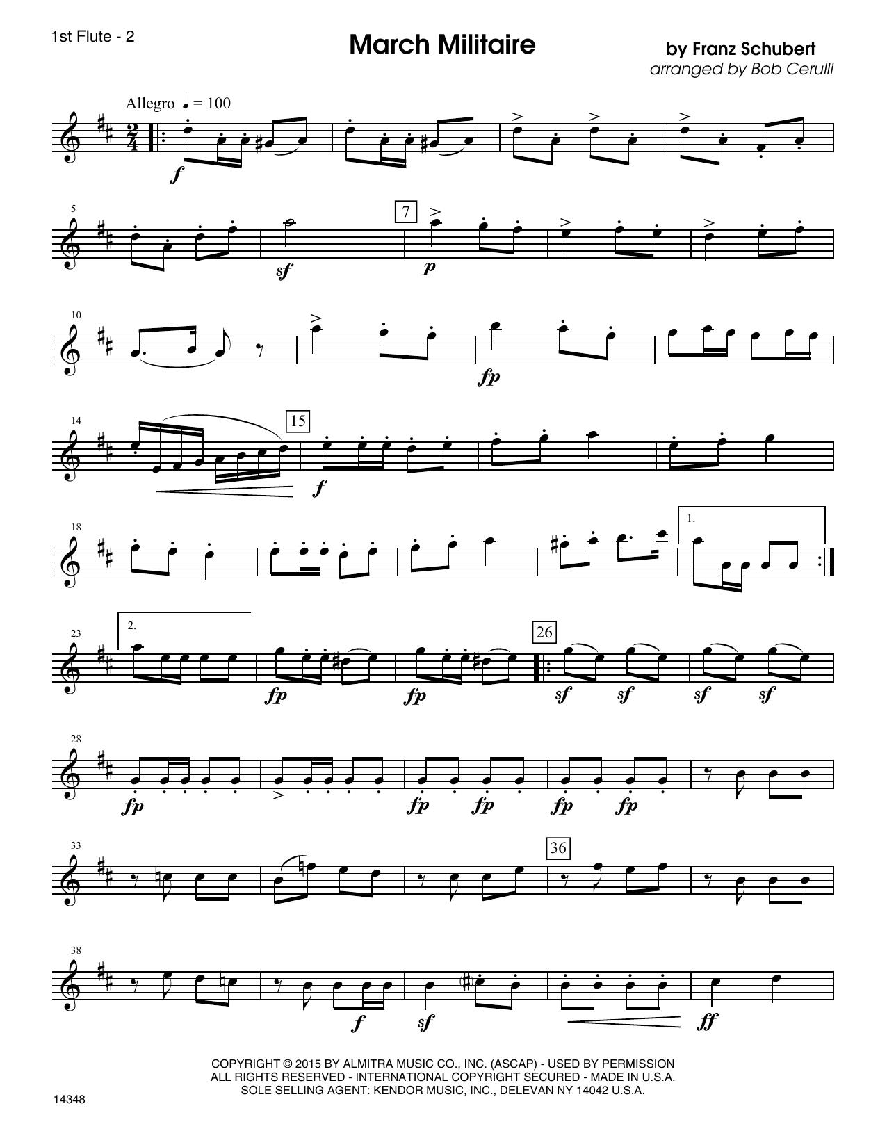 Familiar Classics For Three - 1st Flute Sheet Music