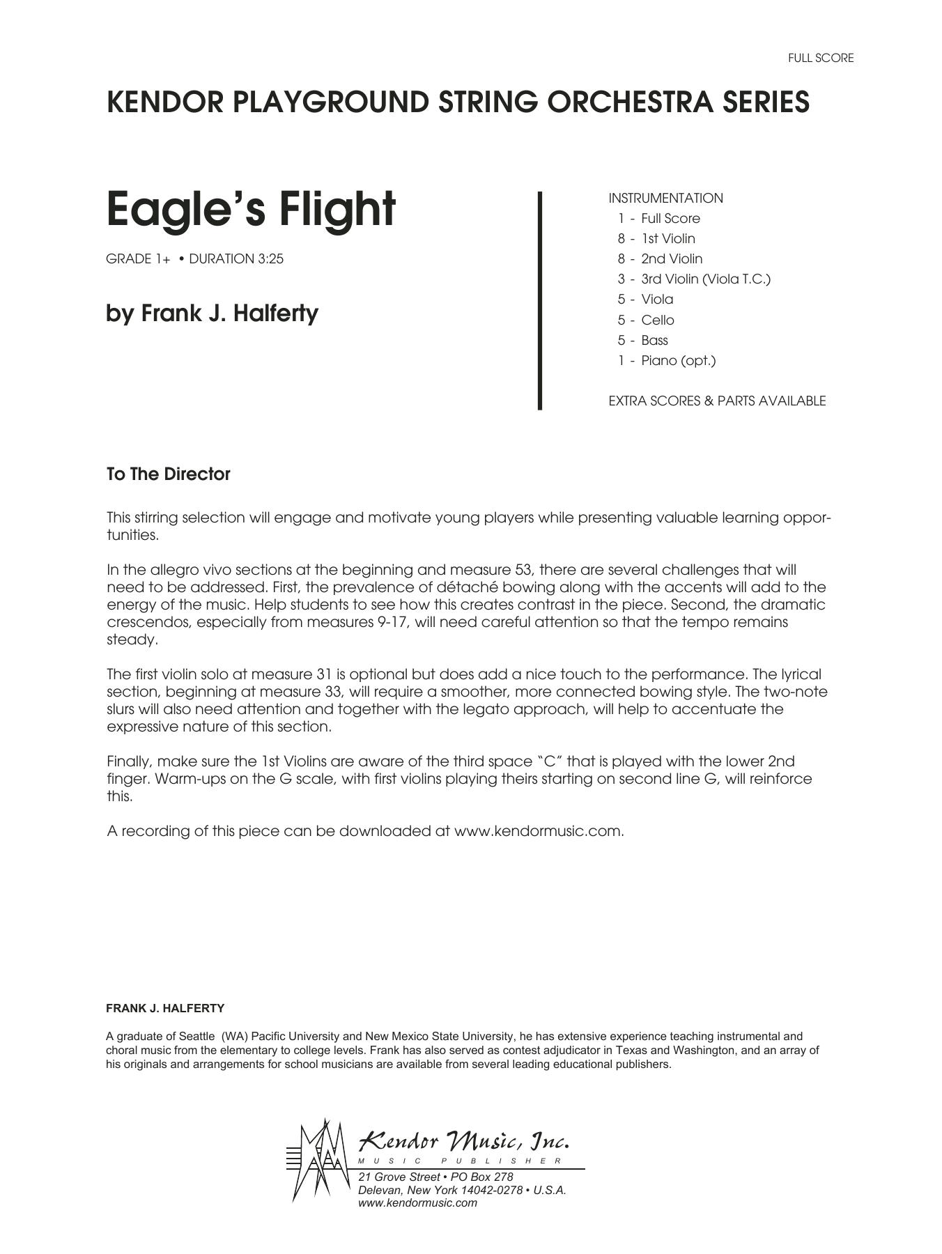 Eagle's Flight - Full Score Sheet Music