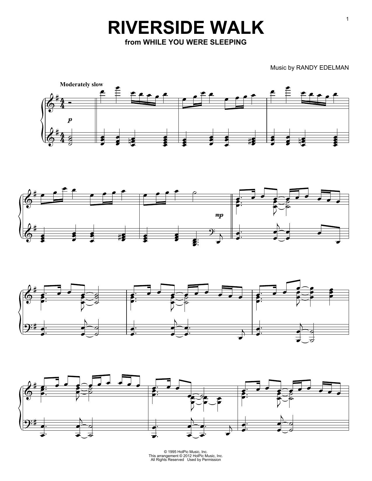 Riverside Walk (Piano Solo)