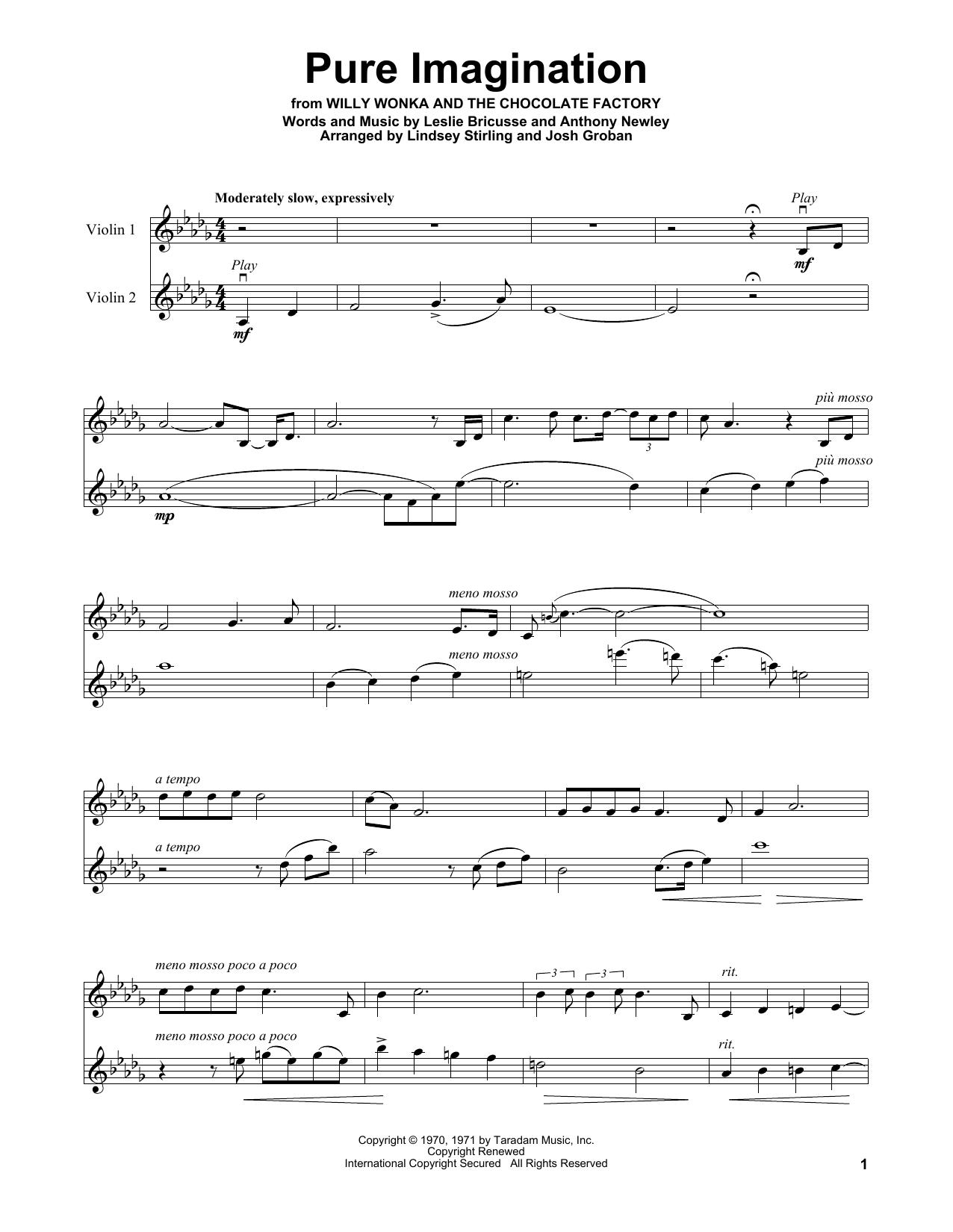 Pure Imagination (Violin Solo)