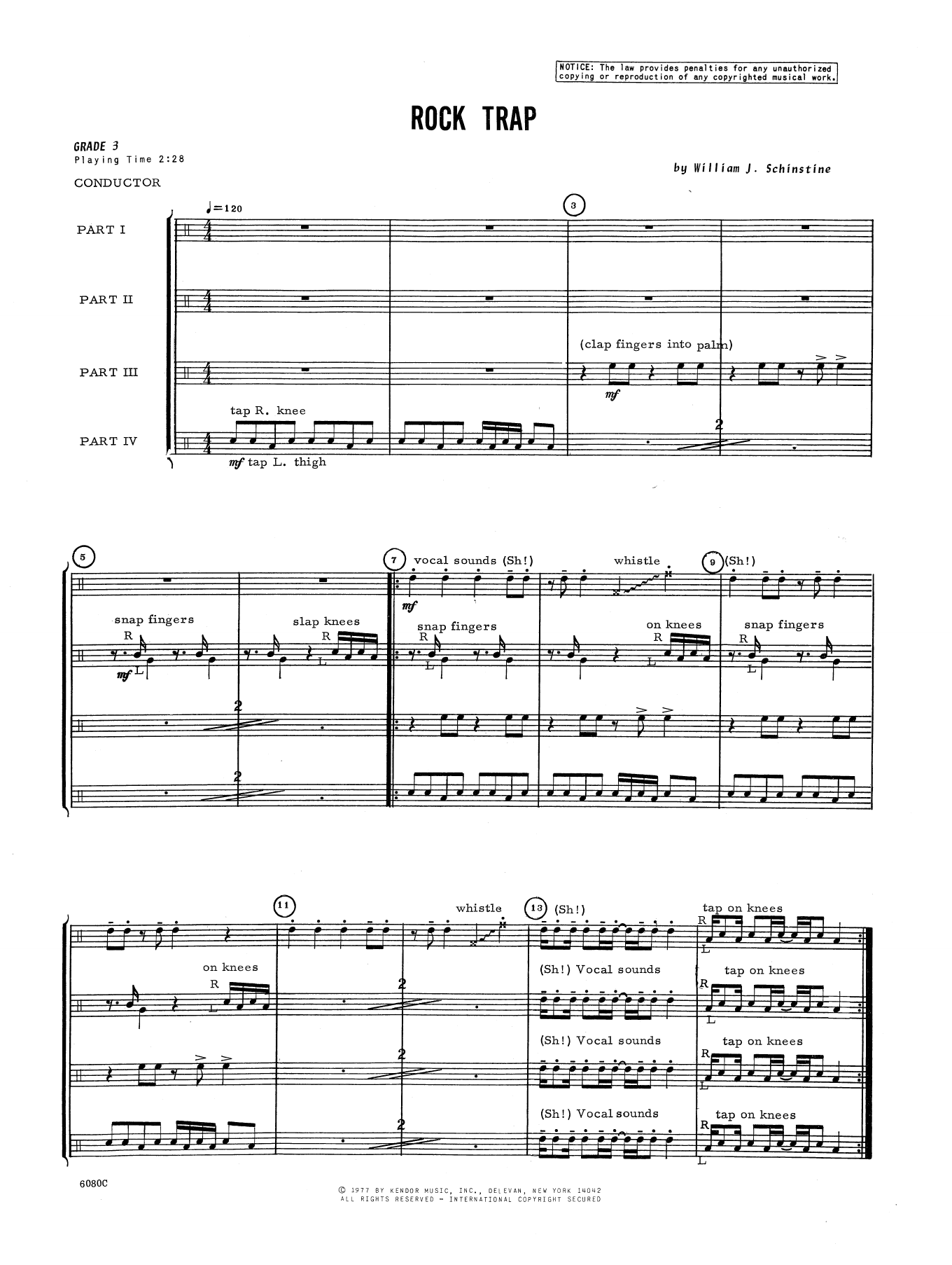 Rock Trap Sheet Music