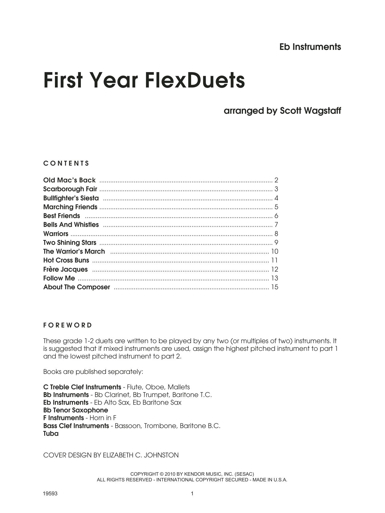 First Year FLexDuets - Eb Instruments Partituras Digitales