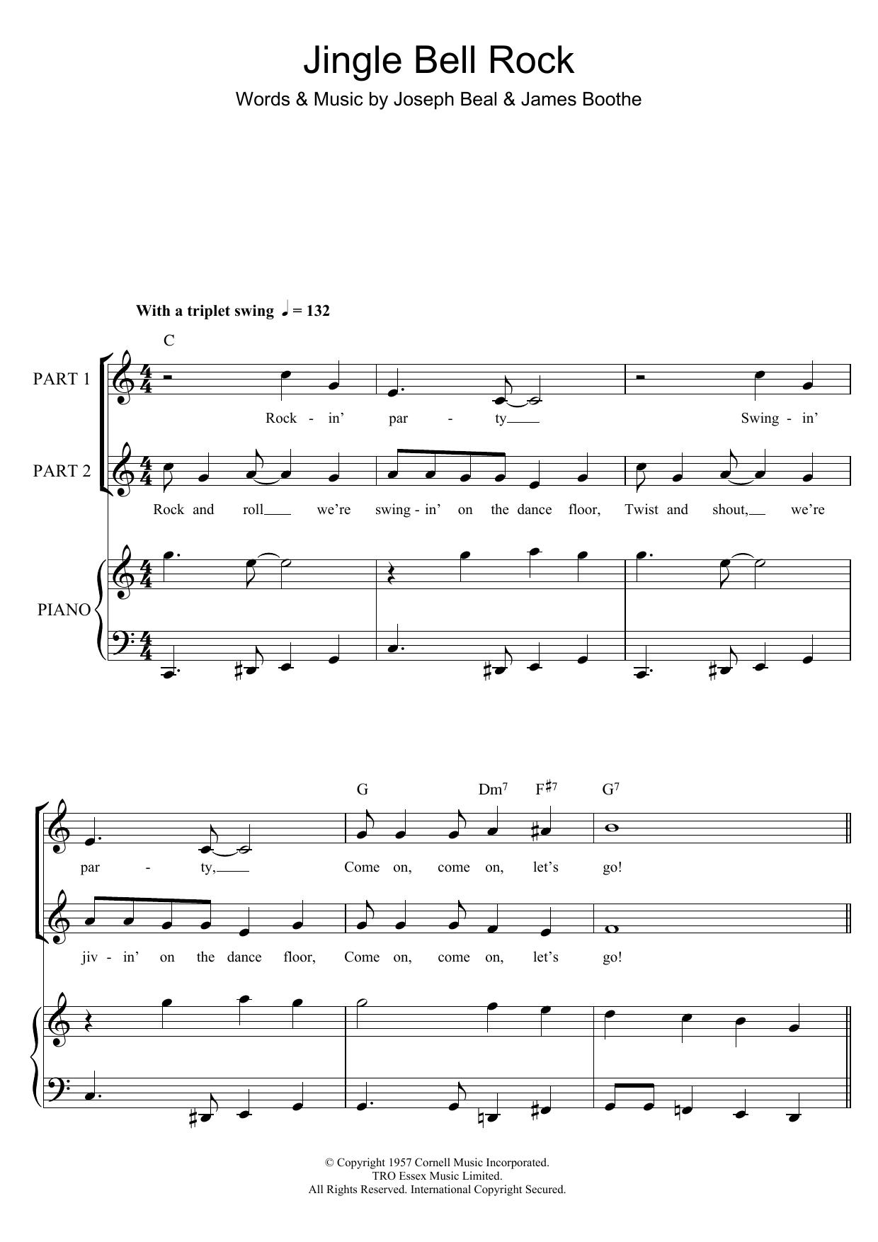 Jingle Bell Rock Partituras Digitales