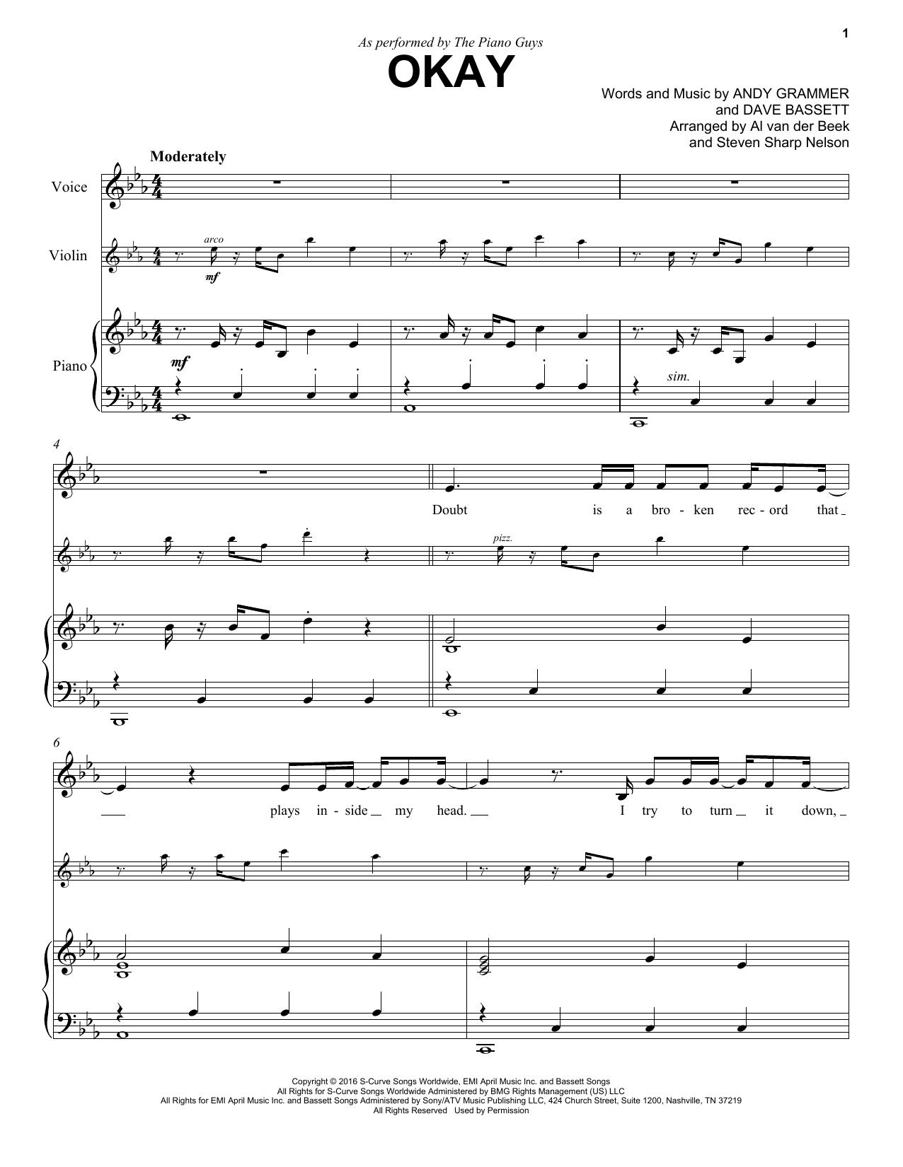 Okay (Violin and Piano)