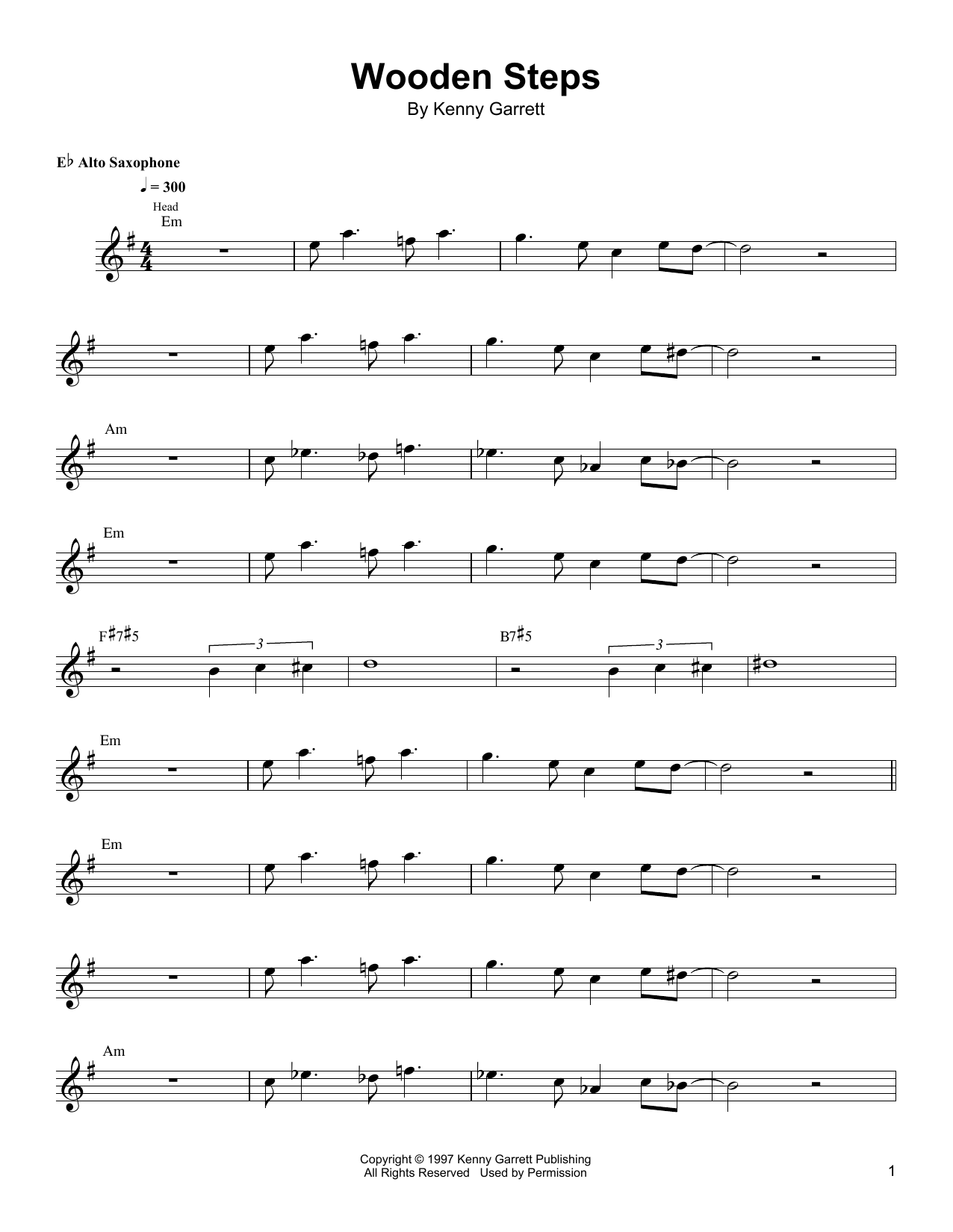 Wooden Steps Sheet Music