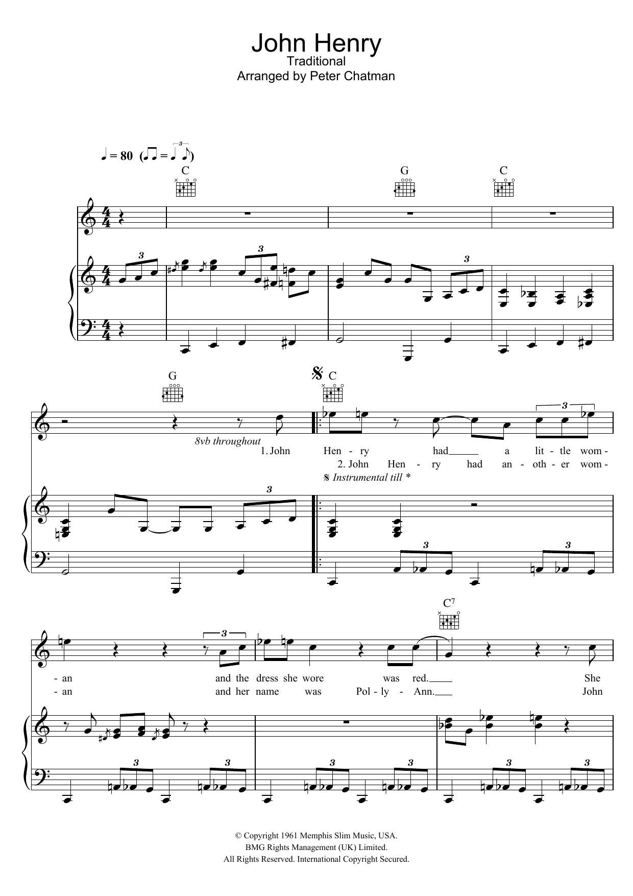 John Henry Hugh Laurie Piano Vocal Guitar