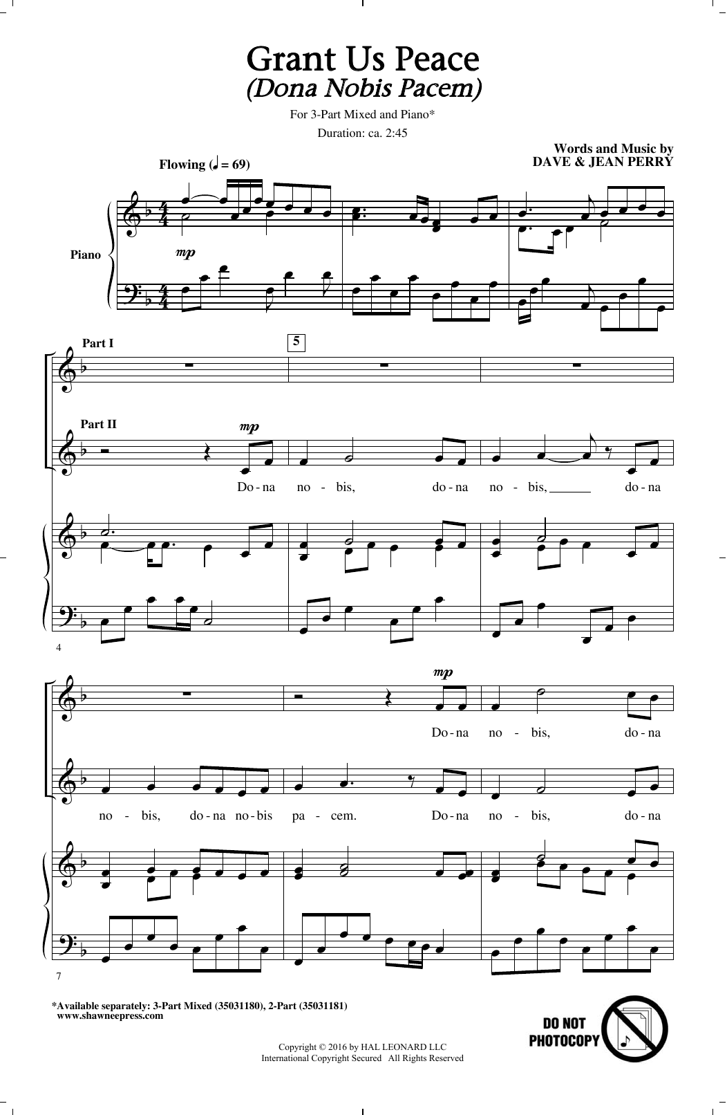 Translations Into Italian: DONA NOBIS PACEM SHEET MUSIC PDF