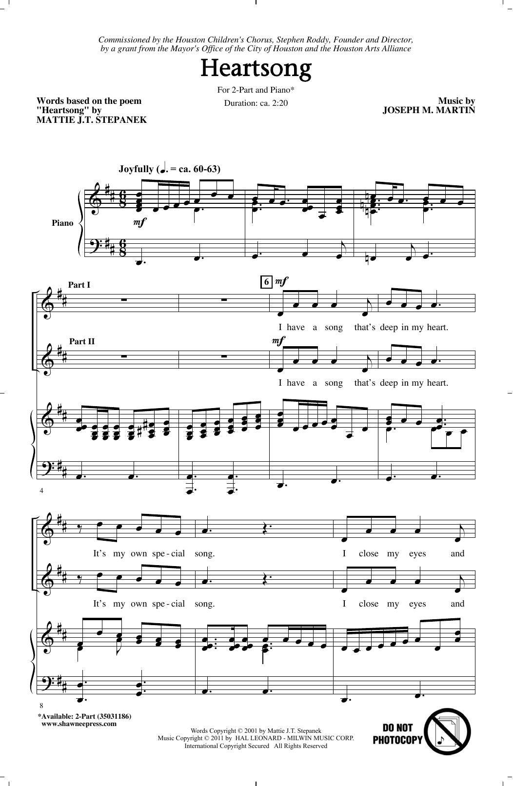 Heartsong (2-Part Choir)