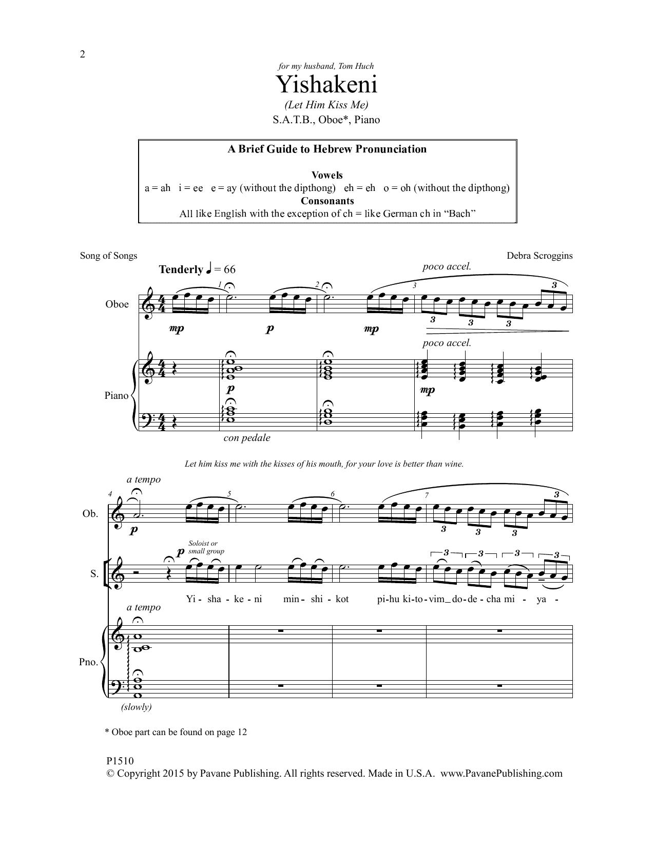 Yishakeni Sheet Music