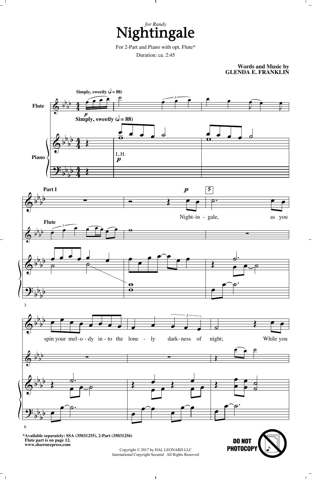 Nightingale Sheet Music