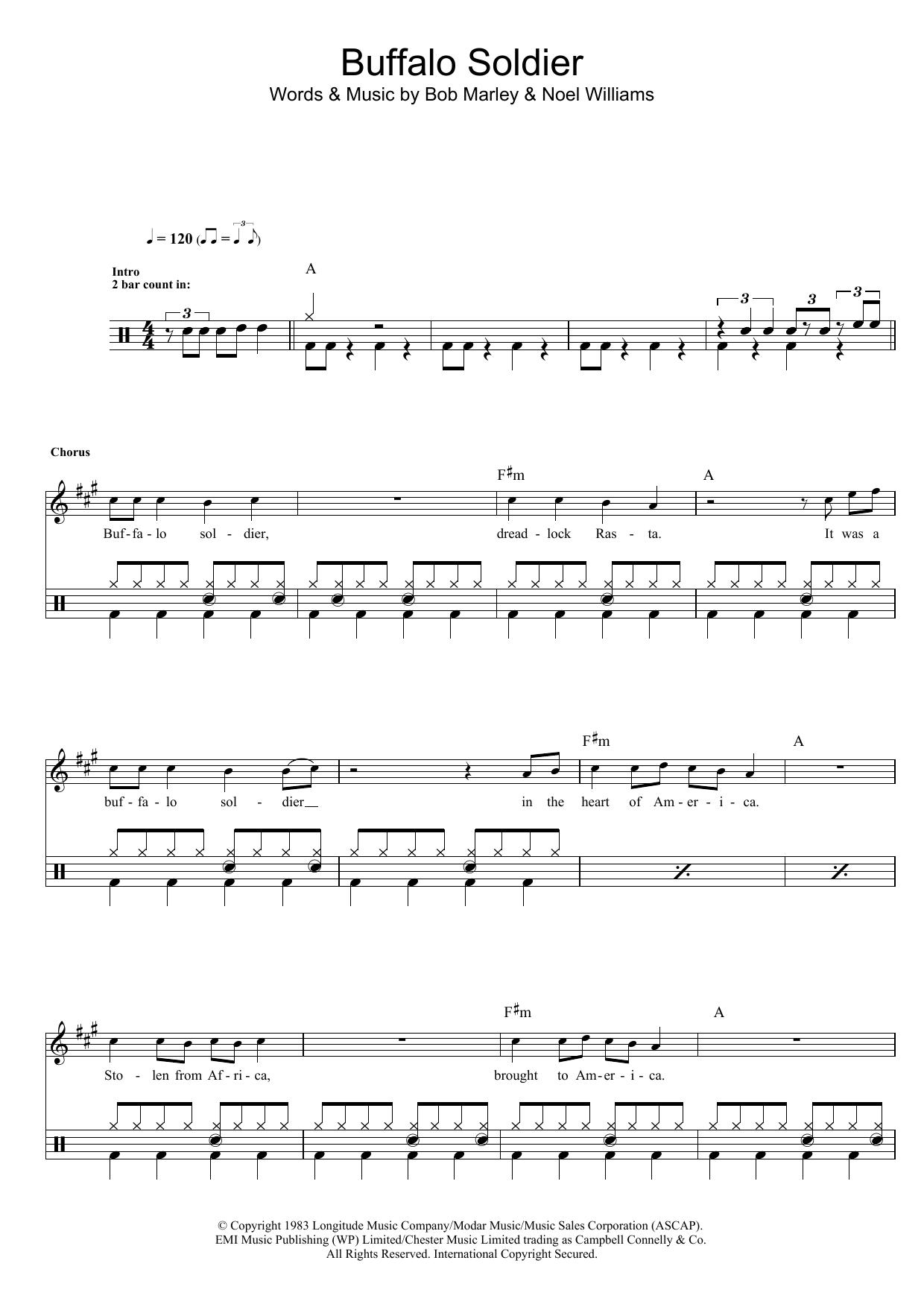 Buffalo Soldier Sheet Music