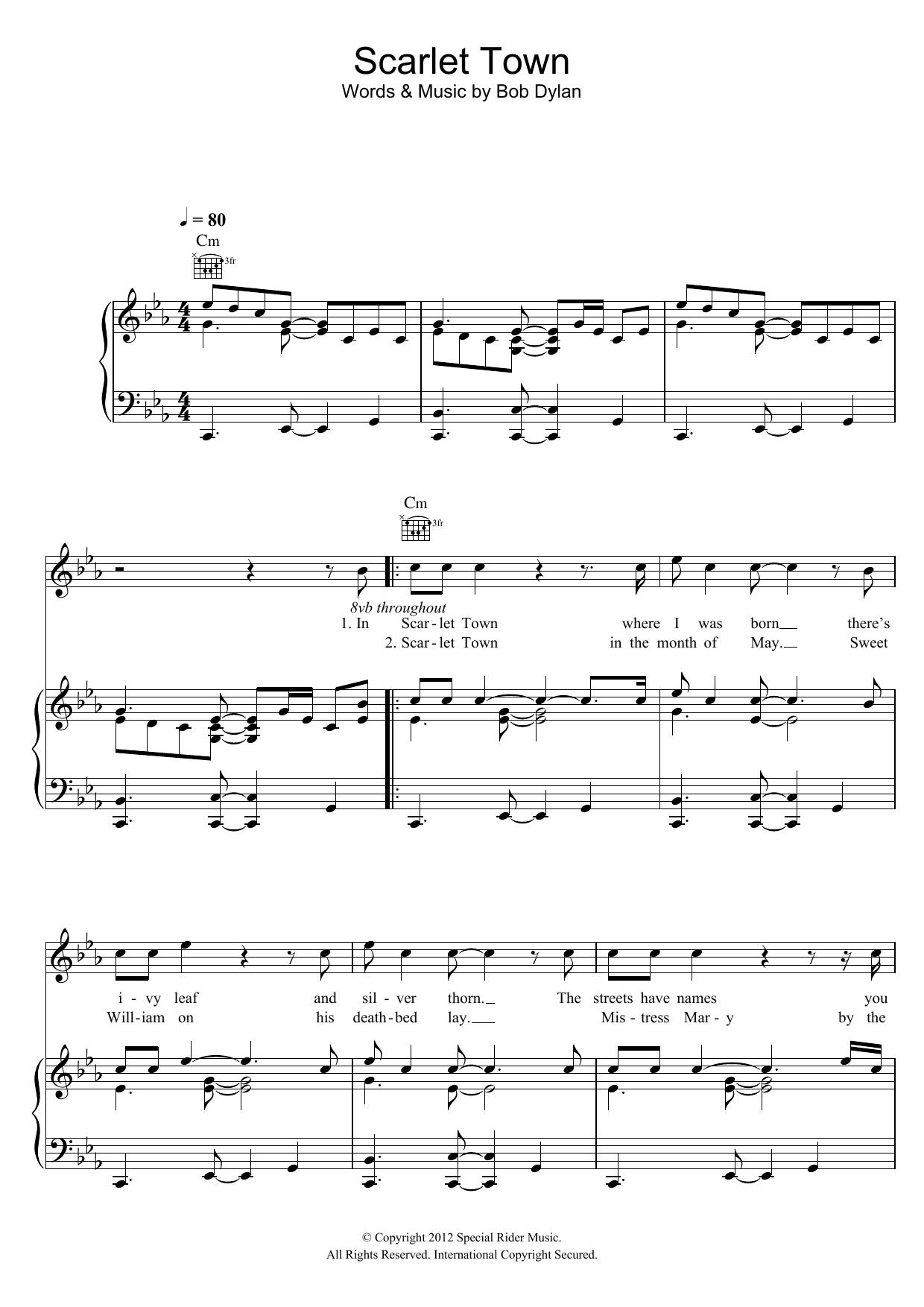 Scarlet Town Sheet Music