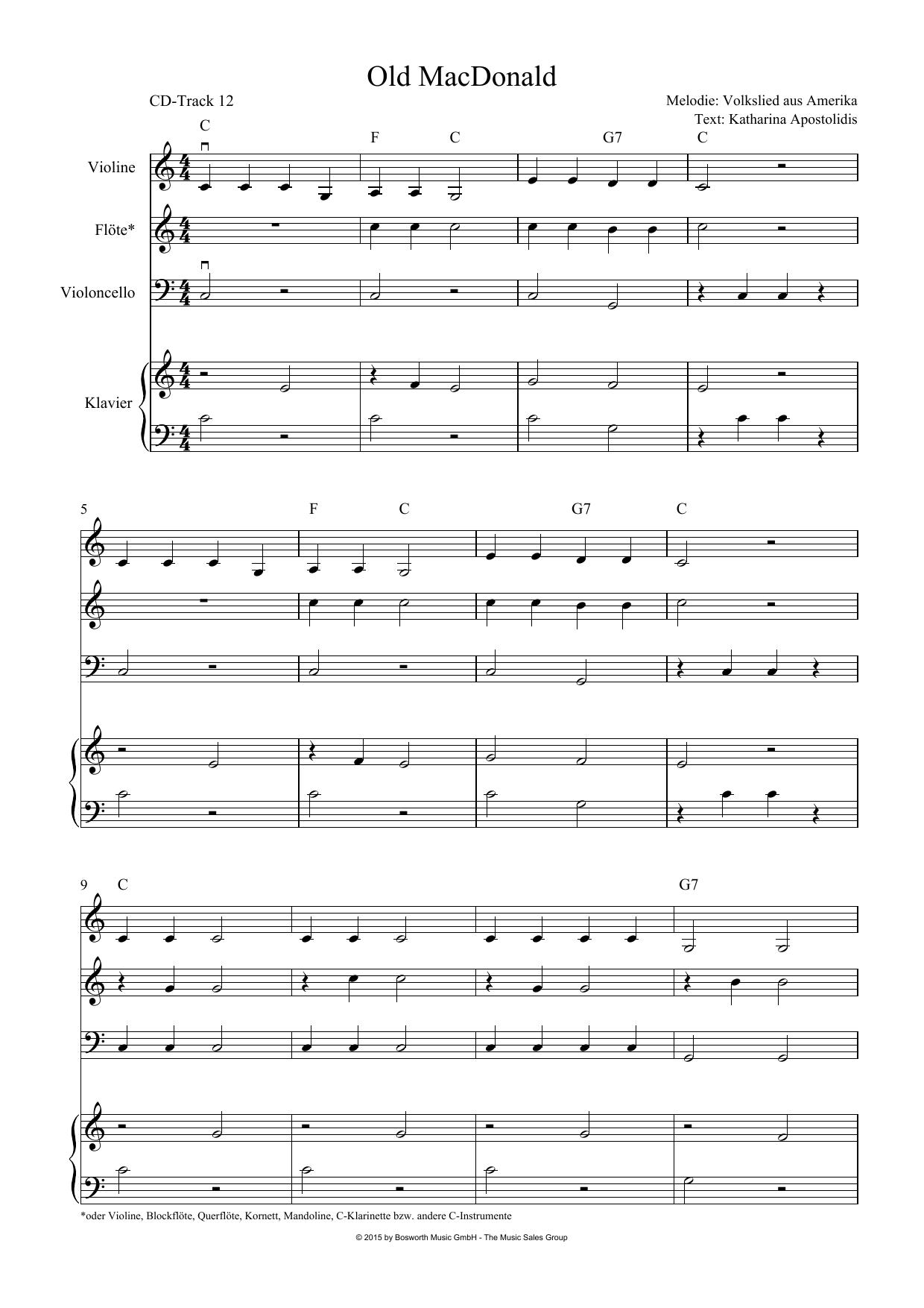 Buntes Liederwunderland Sheet Music