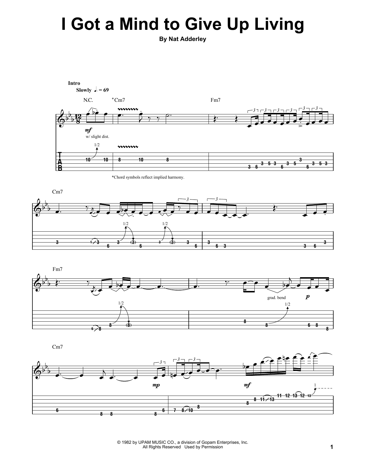 Tablature guitare I Got A Mind To Give Up Living de The Paul Butterfield Blues Band - Autre