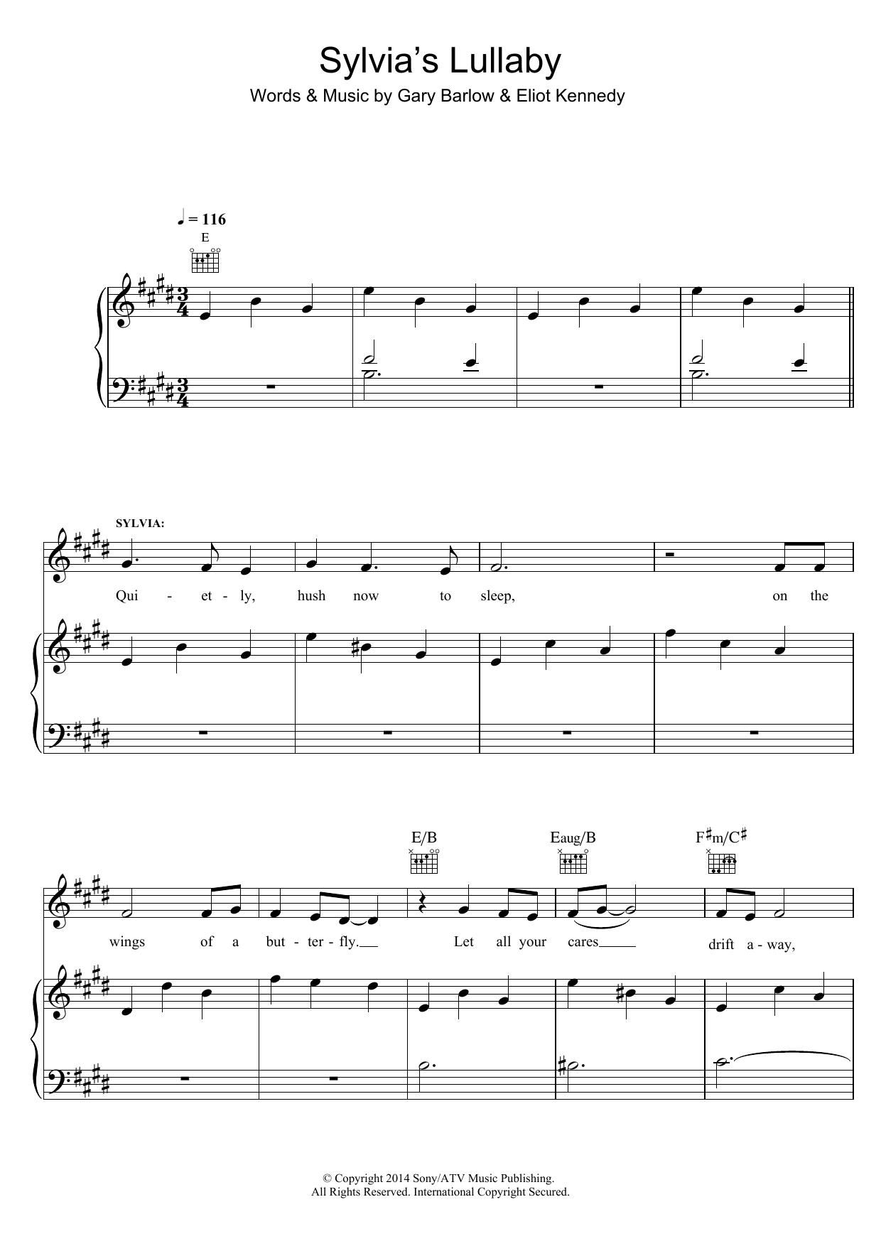 finding neverland sheet music