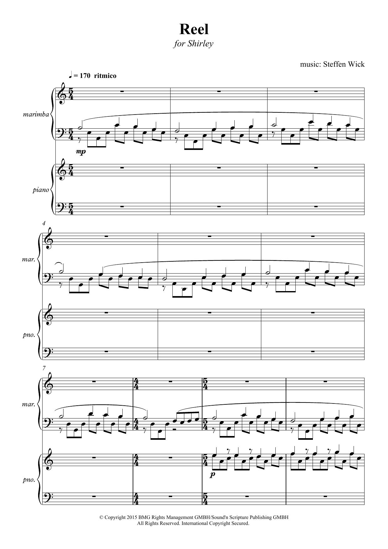 Reel Sheet Music