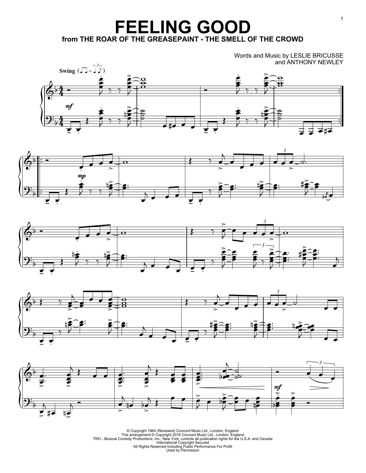 Feeling Good (Piano Solo)