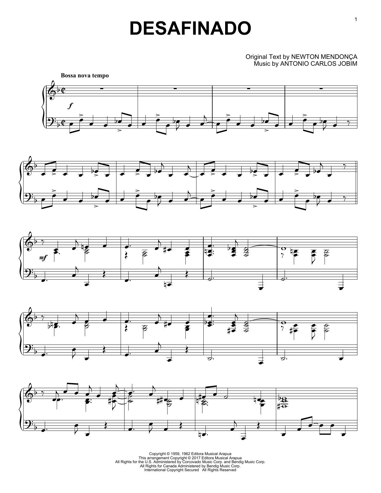 jobim sheet music free pdf