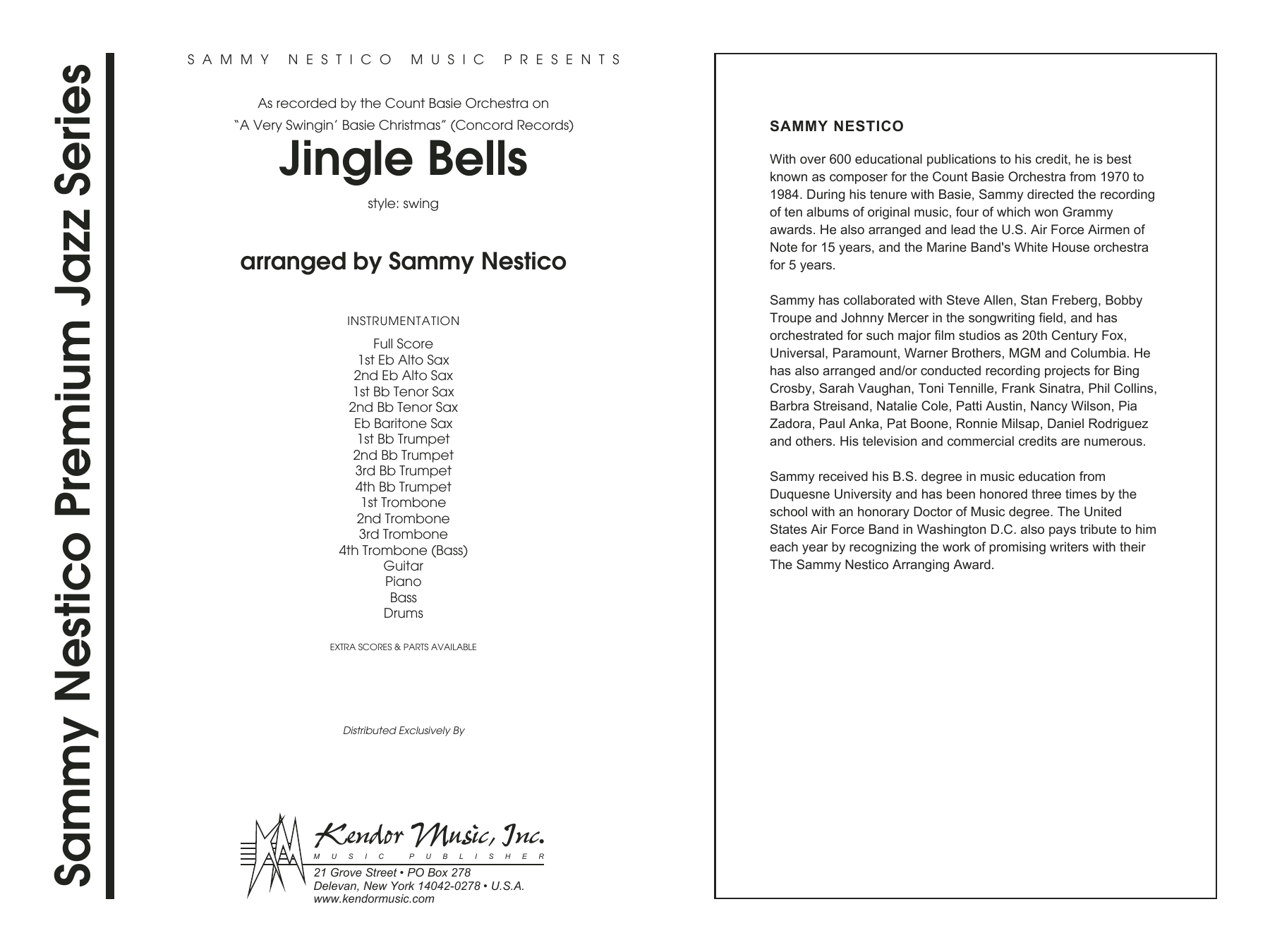 A Very Swinging Basie Christmas.Jingle Bells Band Music Download