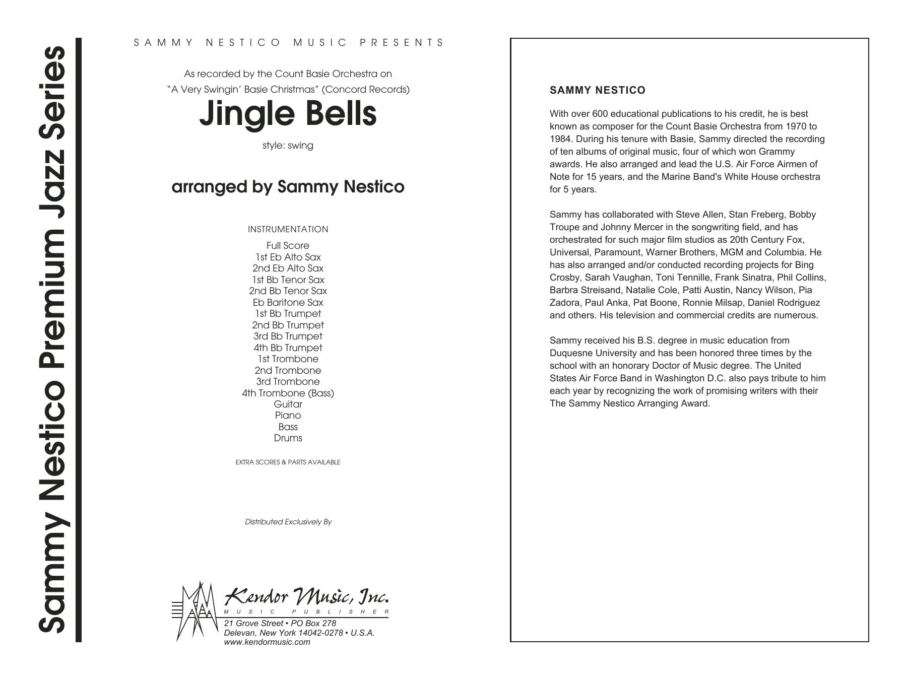 Jingle Bells - Full Score Sheet Music