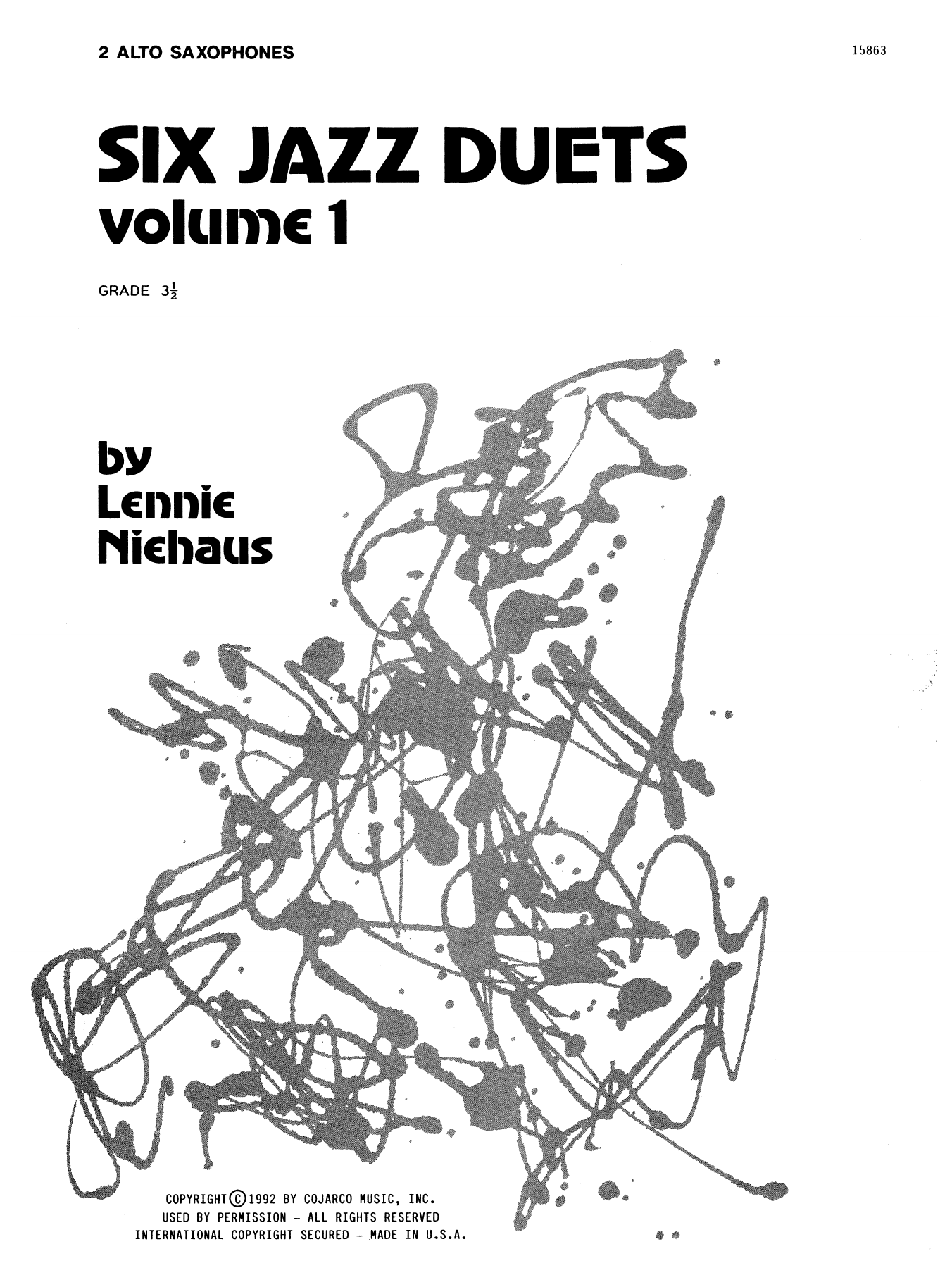 Six Jazz Duets, Volume 1 Sheet Music