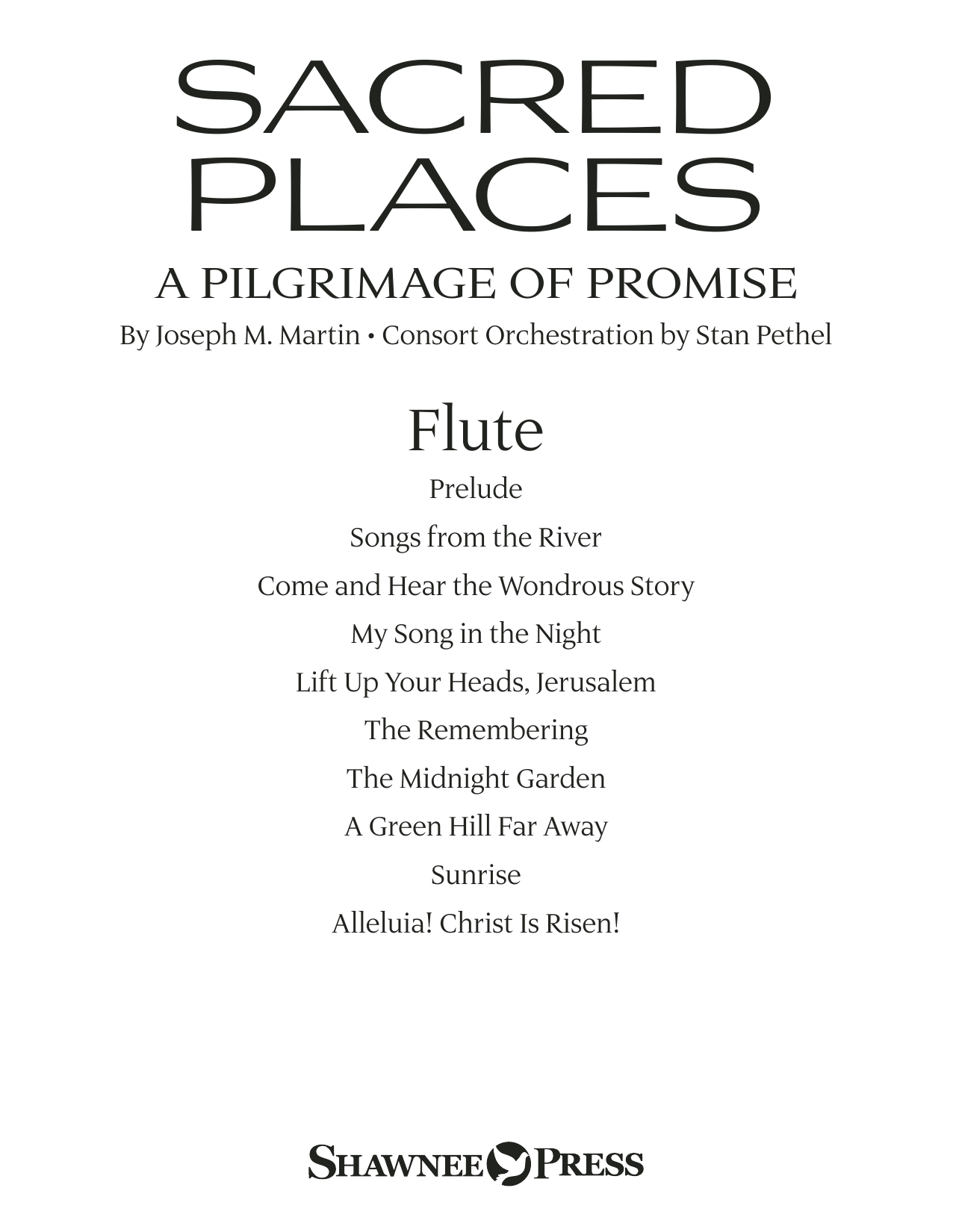 Sacred Places - Flute Sheet Music
