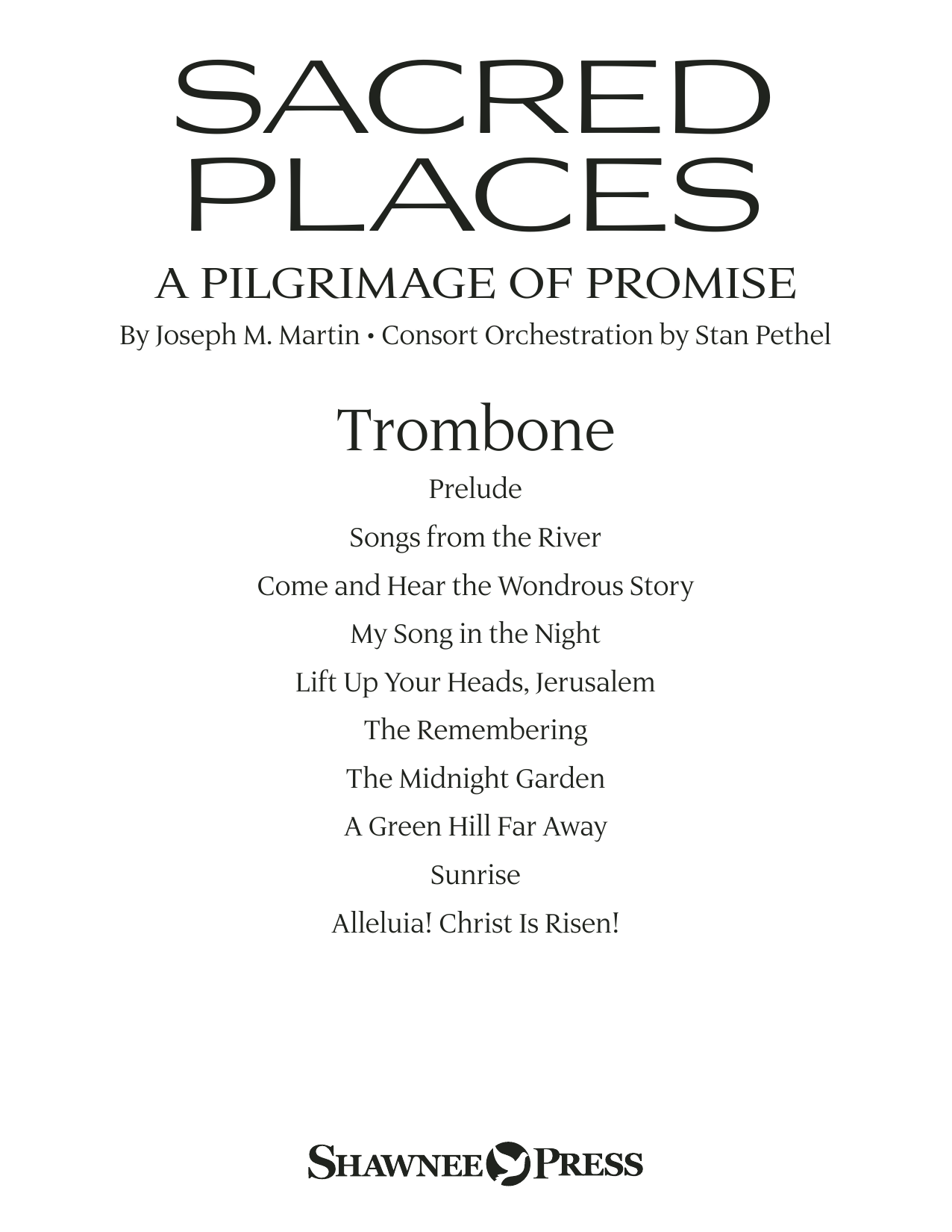 Sacred Places - Trombone Sheet Music