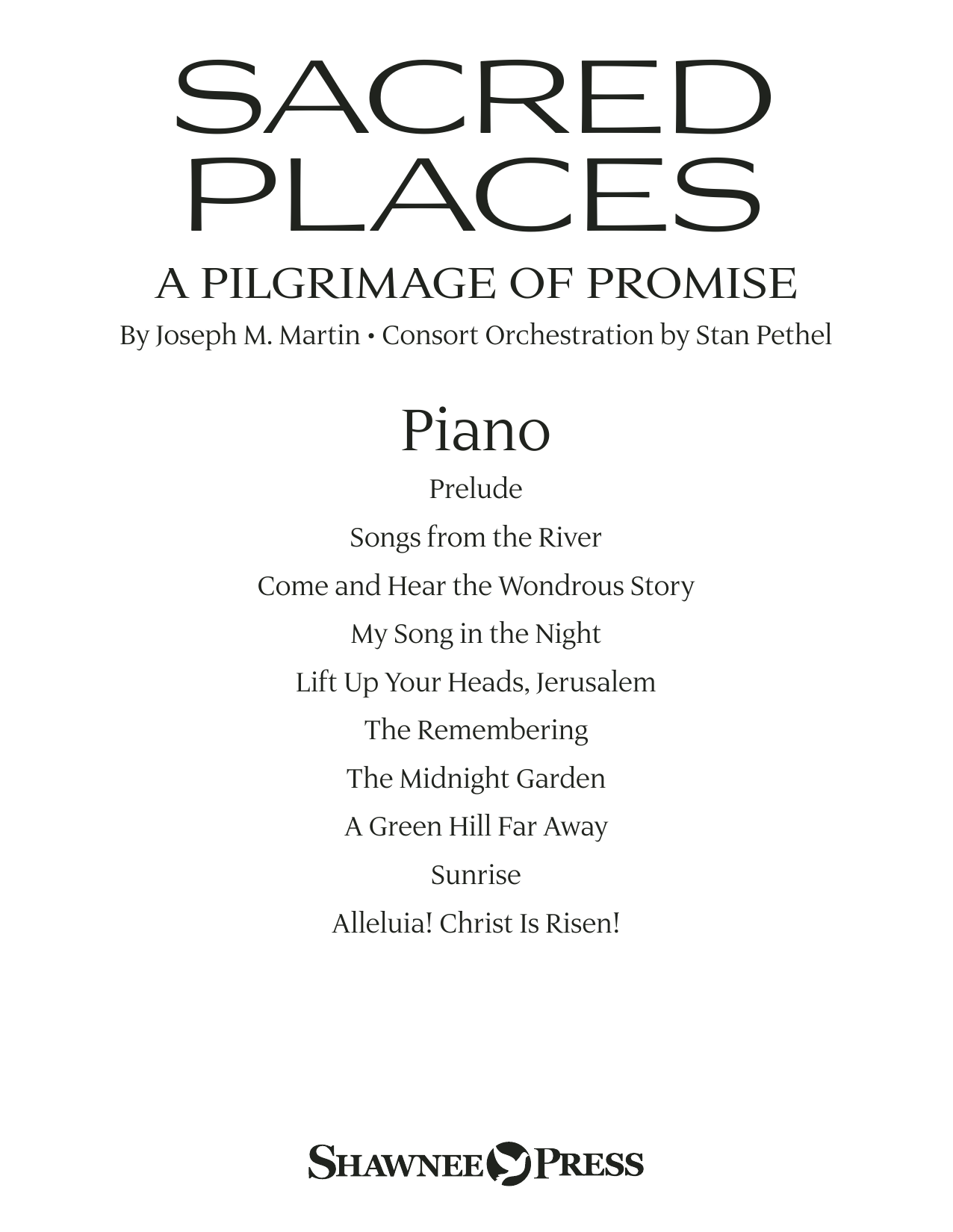 Sacred Places - Piano Sheet Music