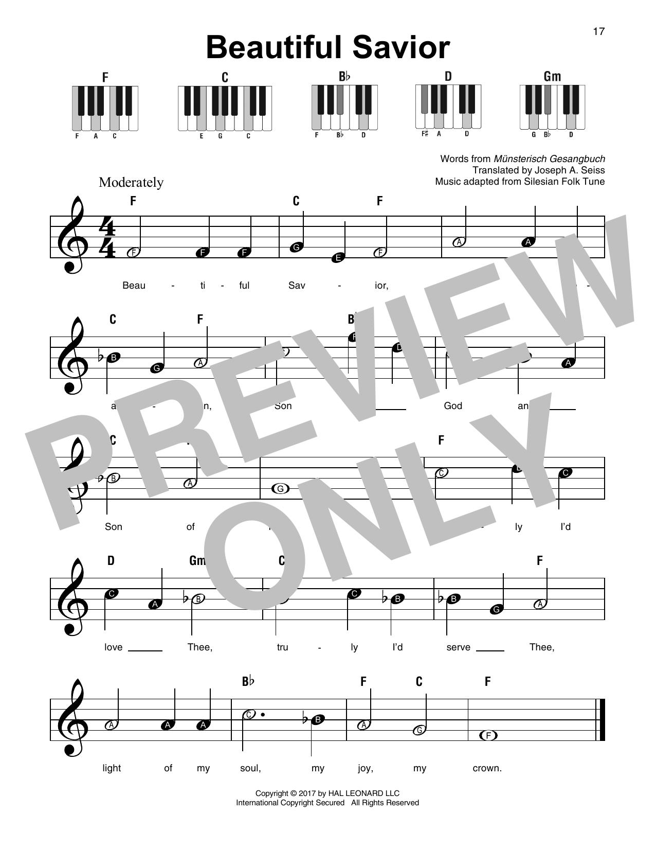 Beautiful Savior Sheet Music