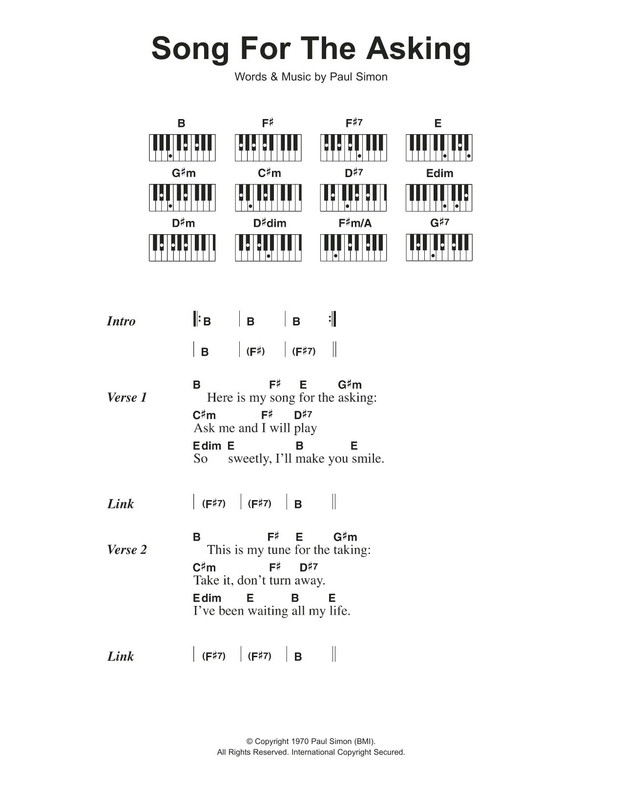 simon and garfunkel sheet music pdf