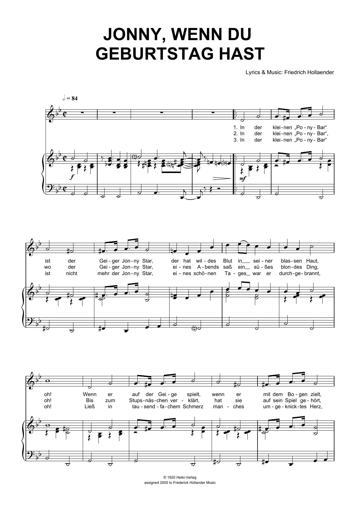 Geburtstags-Choral Und Geburtstags-Invention Piano