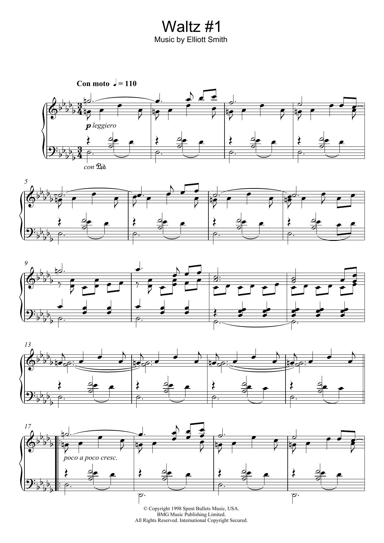 Waltz #1 Sheet Music