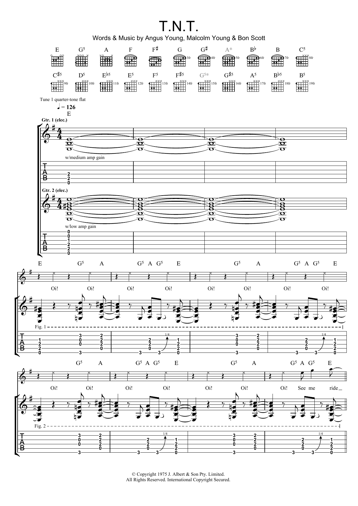 NMA Rock & Pop E-Gitarre Band 1 Sheet Music