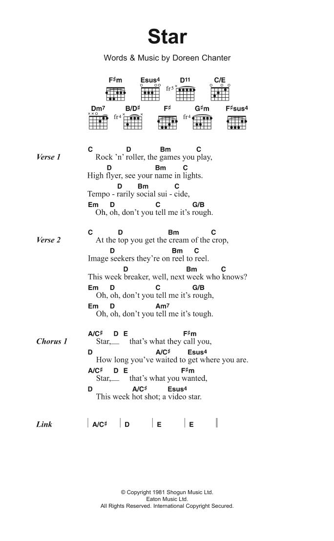 Star Sheet Music