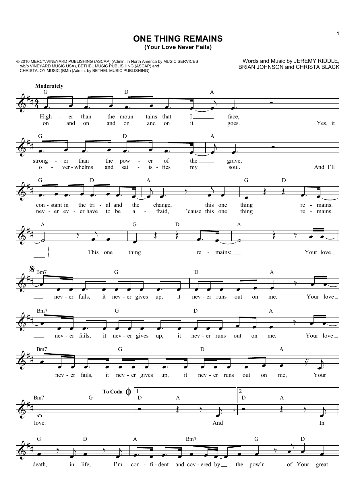 Guitar Chords For Your Love Never Fails