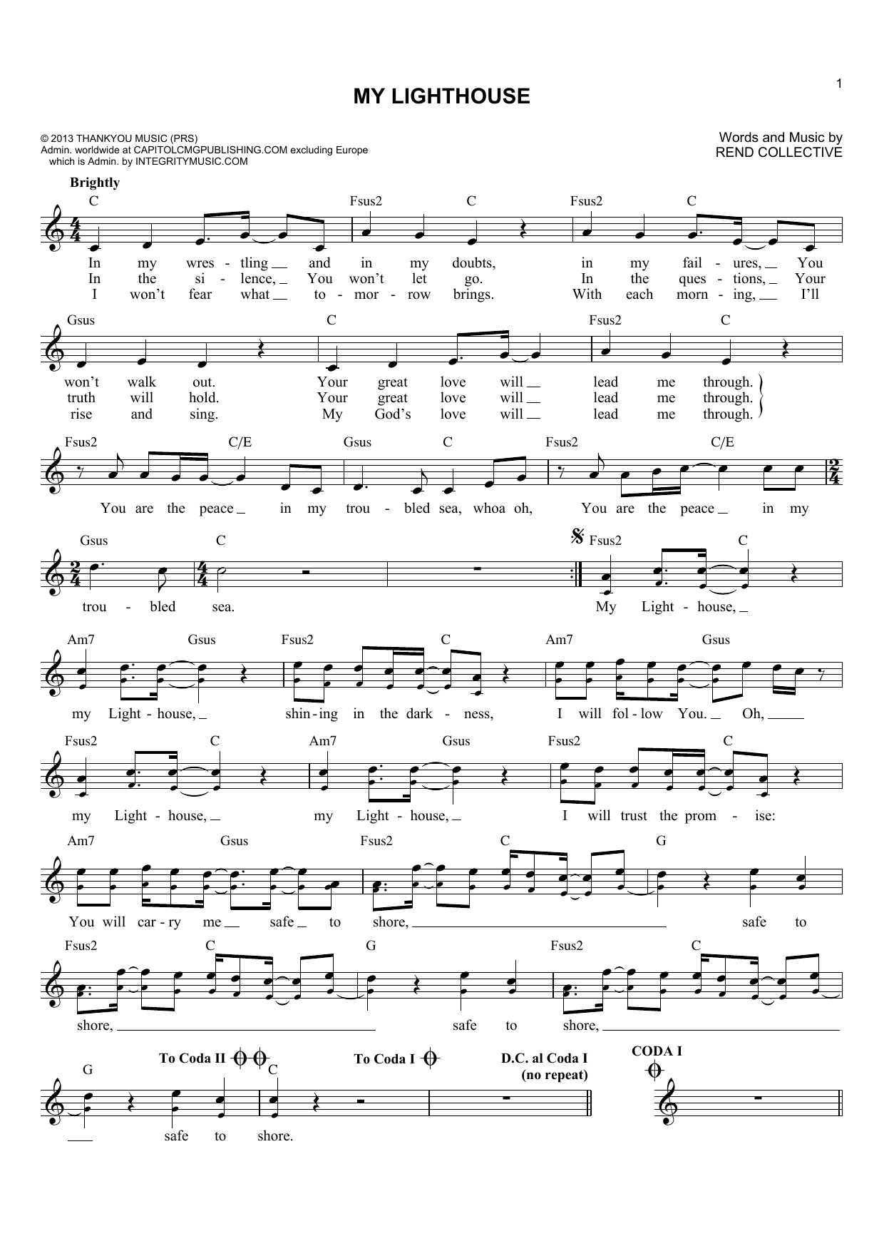 rend collective build your kingdom here chords pdf