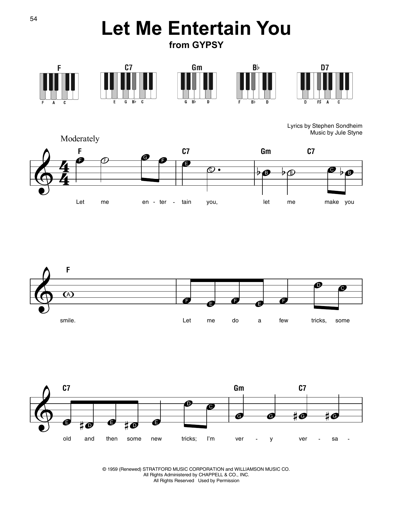 Let Me Entertain You (Super Easy Piano)