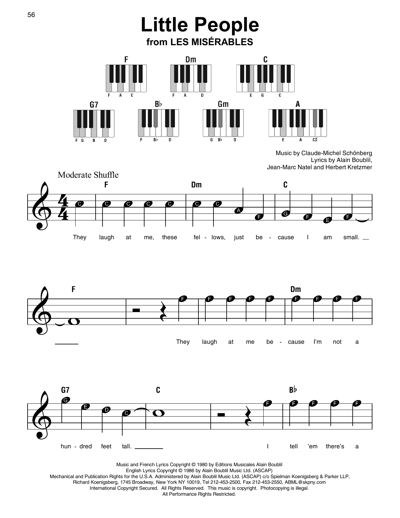 Little People (Super Easy Piano)