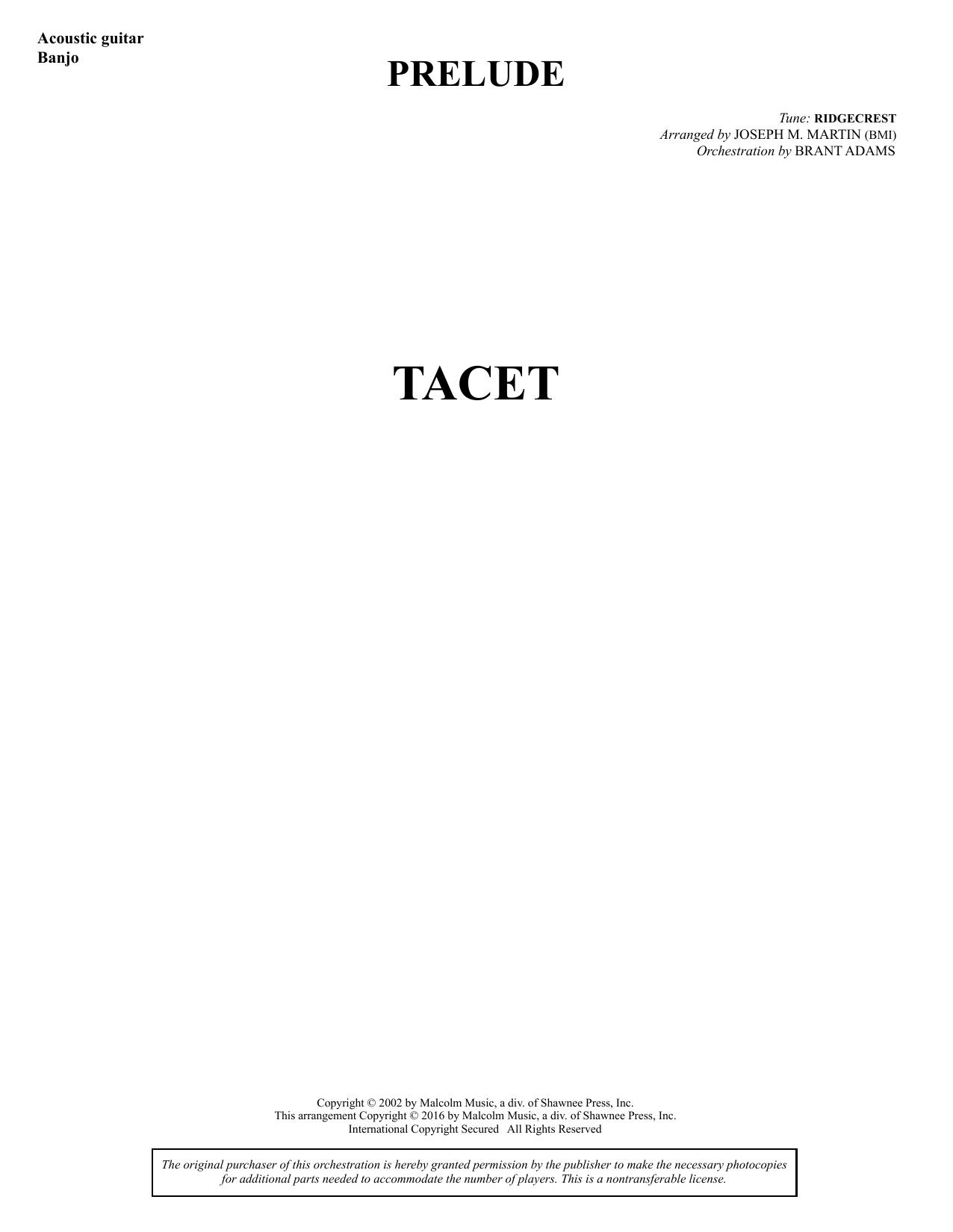 Sacred Places - Guitar/Banjo Sheet Music