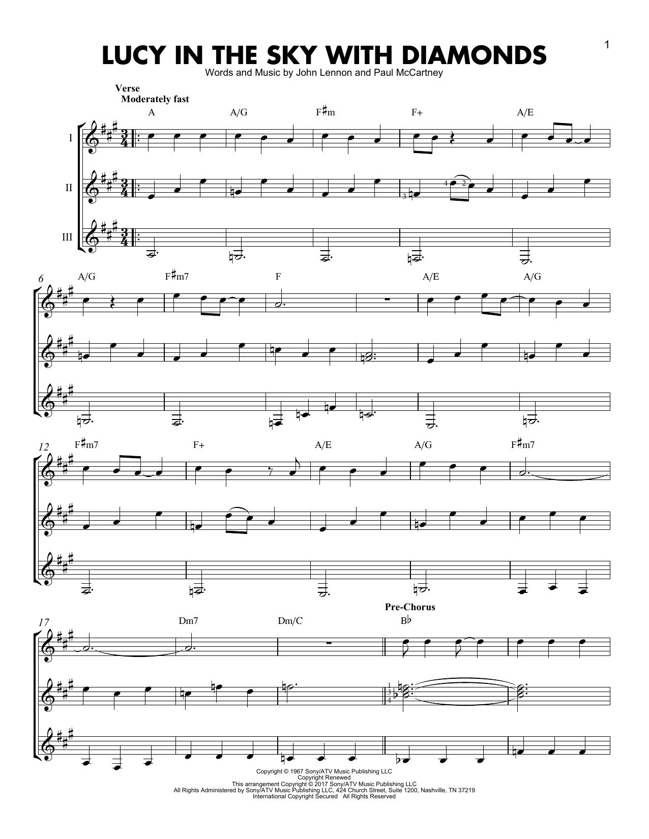 Partition autre Lucy In The Sky With Diamonds de The Beatles - Autre