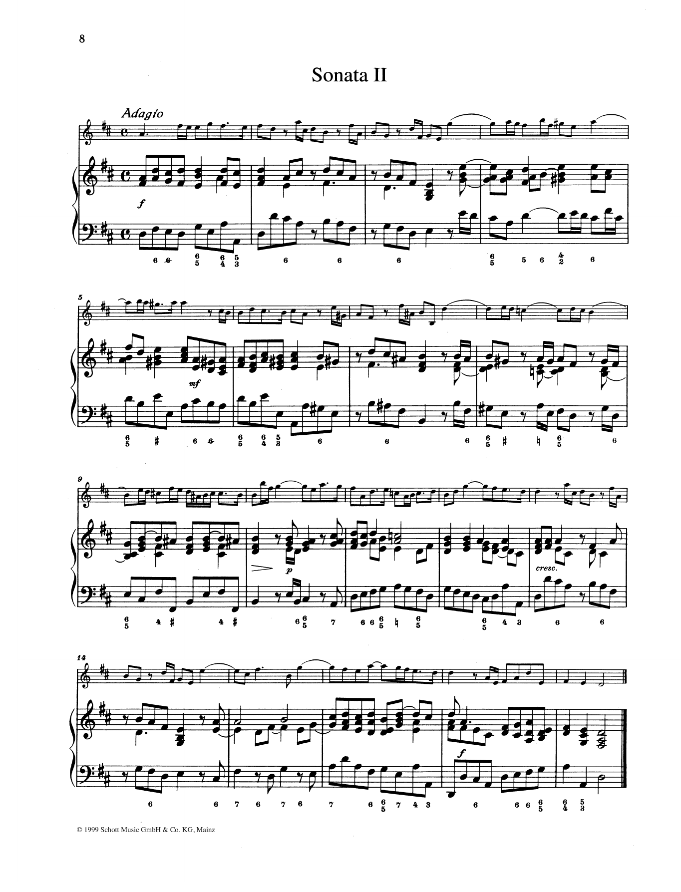 Sonata No. 2 Sheet Music